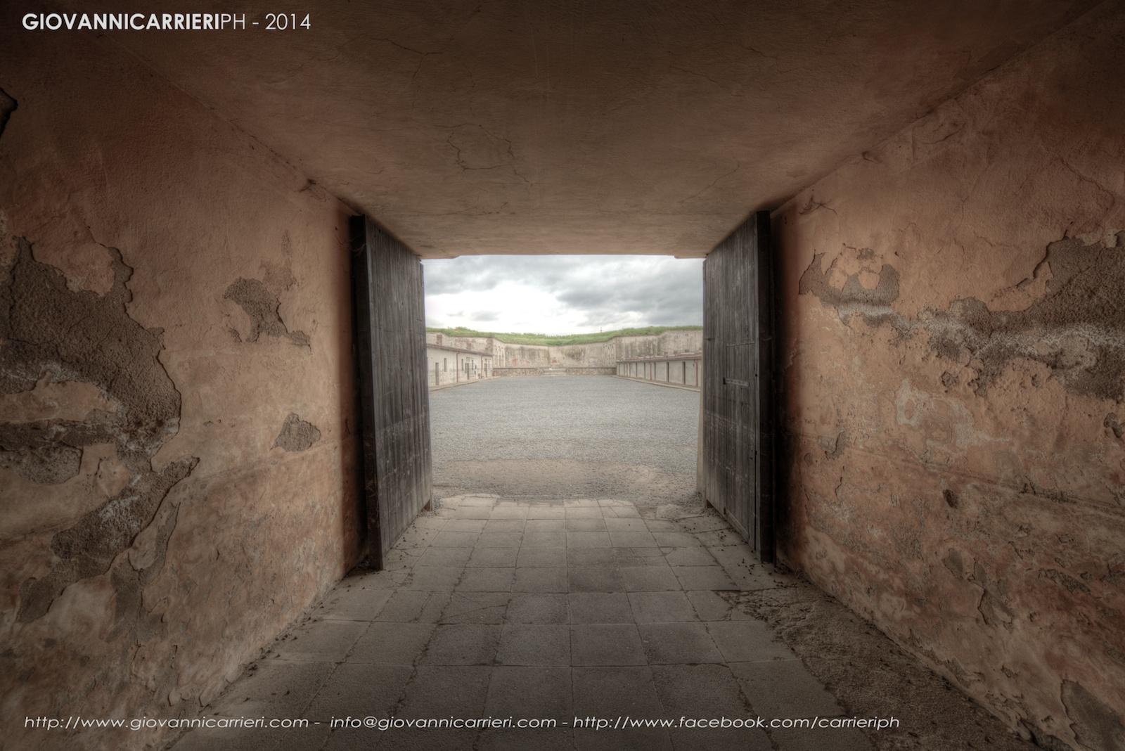 L'ingresso al quarto cortile - Theresienstadt