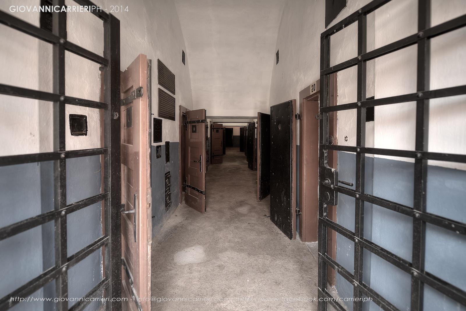 L'ingresso delle celle di isolamento - Theresienstadt