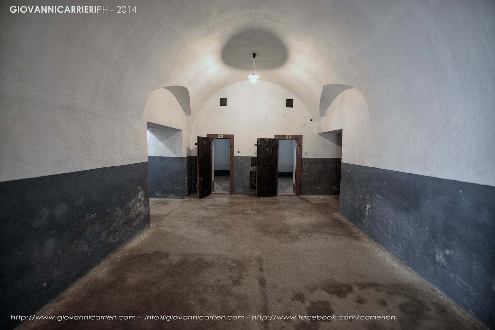 Le celle di isolamento - Theresienstadt