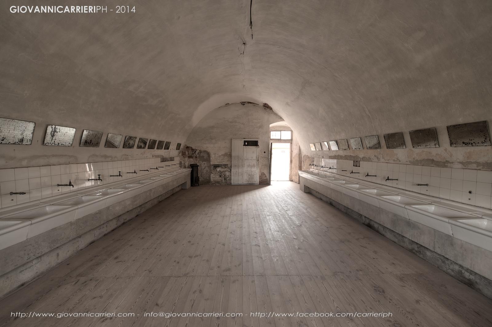I lavandini dei blocchi - Theresienstadt