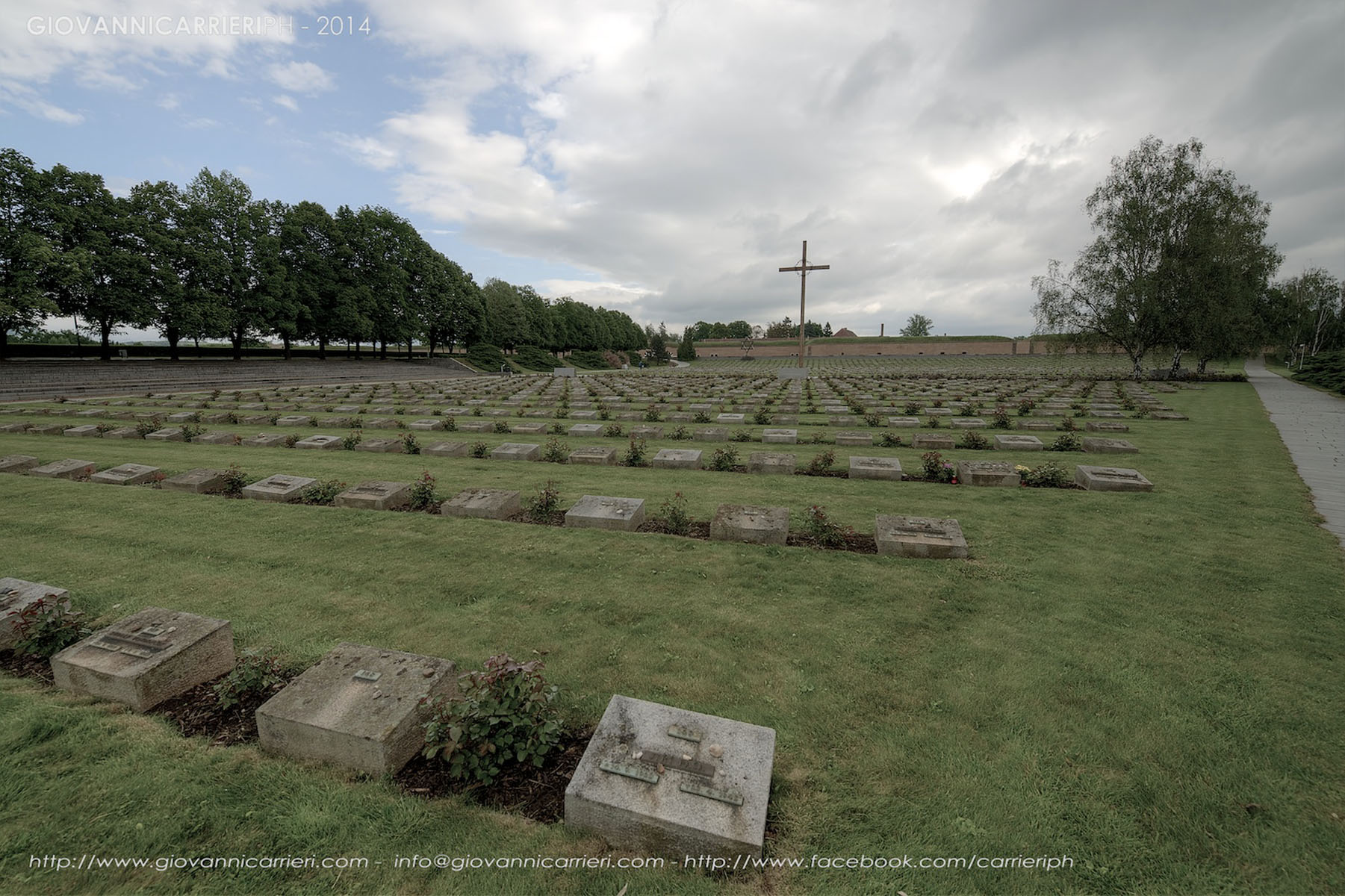 Il Cimitero Nazionale di Theresienstadt - la croce