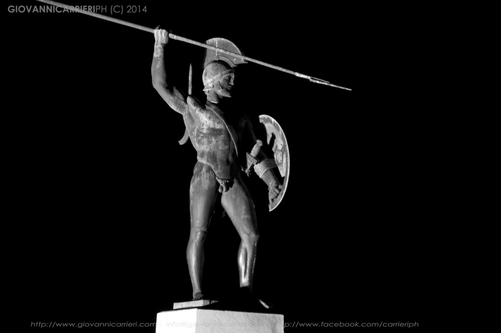 Venite a Prenderle! disse Leonida ai Persiani