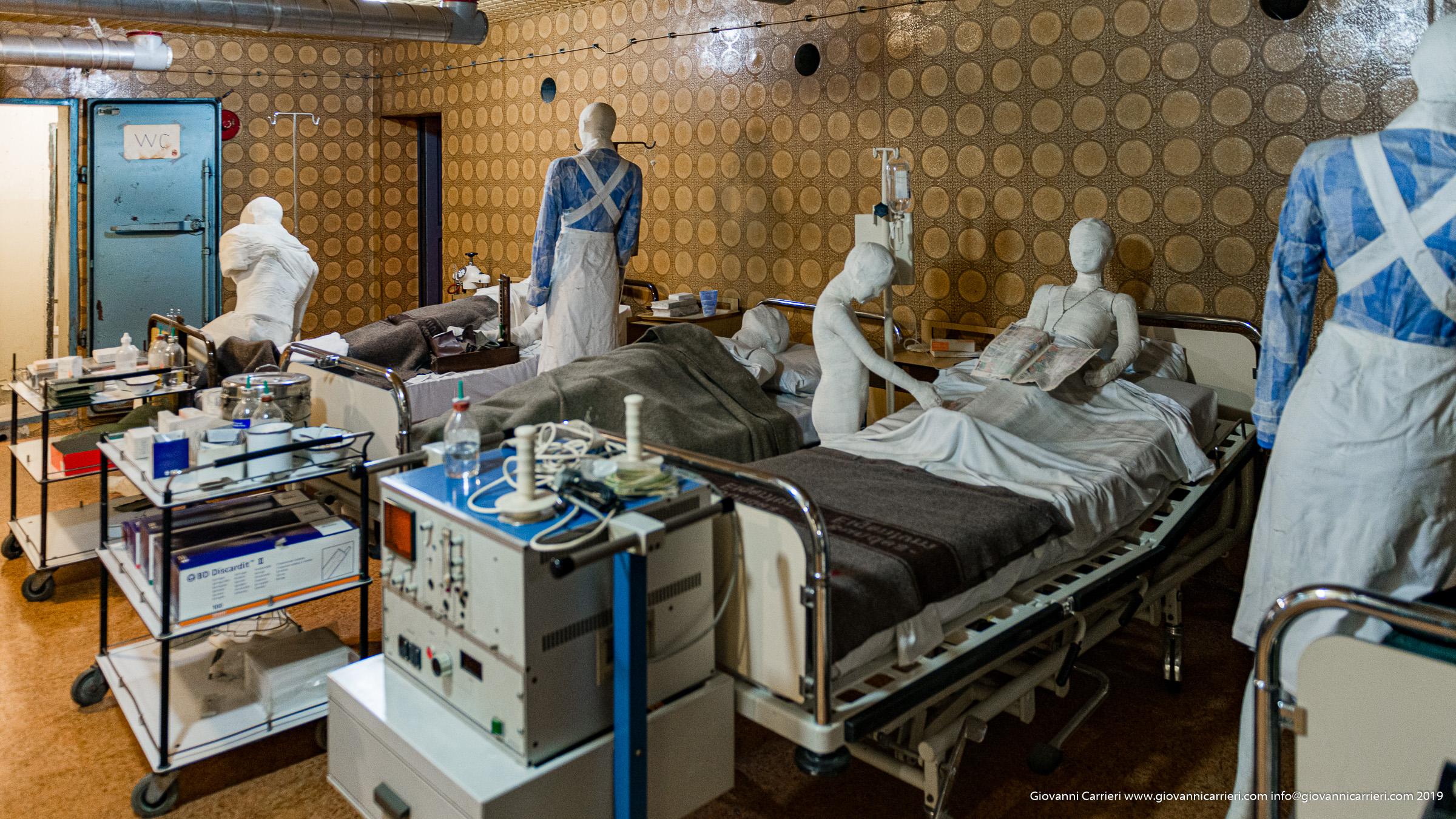 Il primo soccorso nell'ospedale di Vukovar