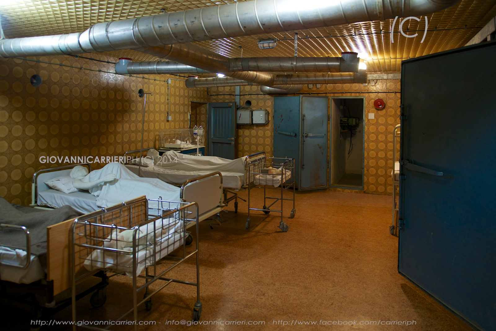 Pazienti a riposo nell'ospedale di Vukovar