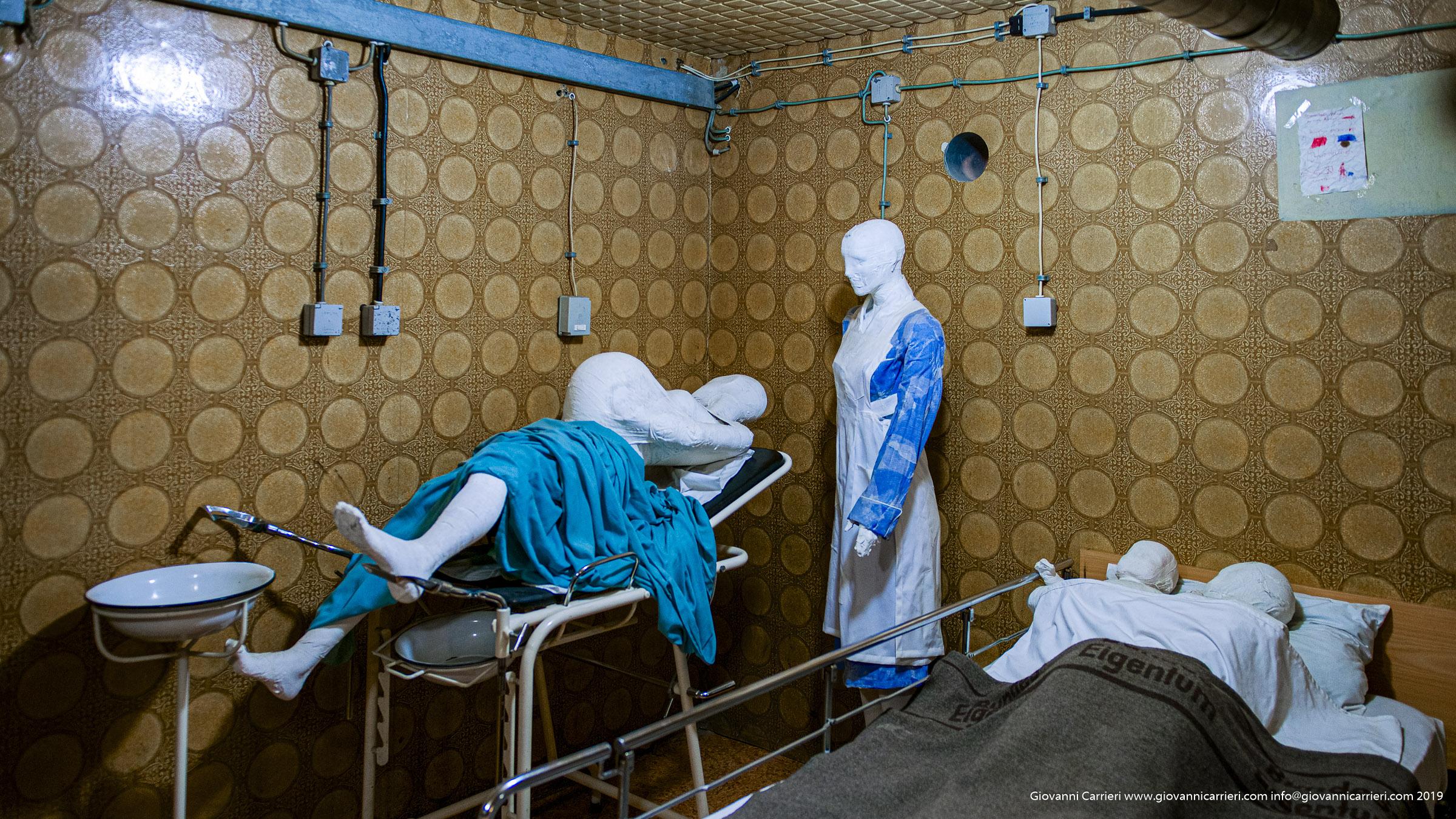Le cure ai pazienti nell'ospedale of Vukovar durante l'assedio