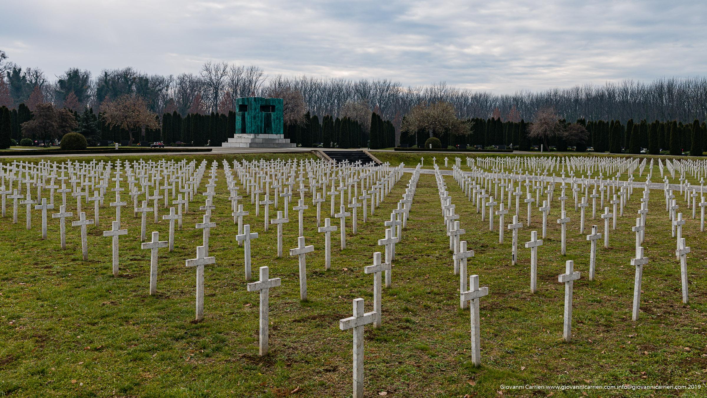 Il cimitero monumentale dedicato ai martiri di Vukovar