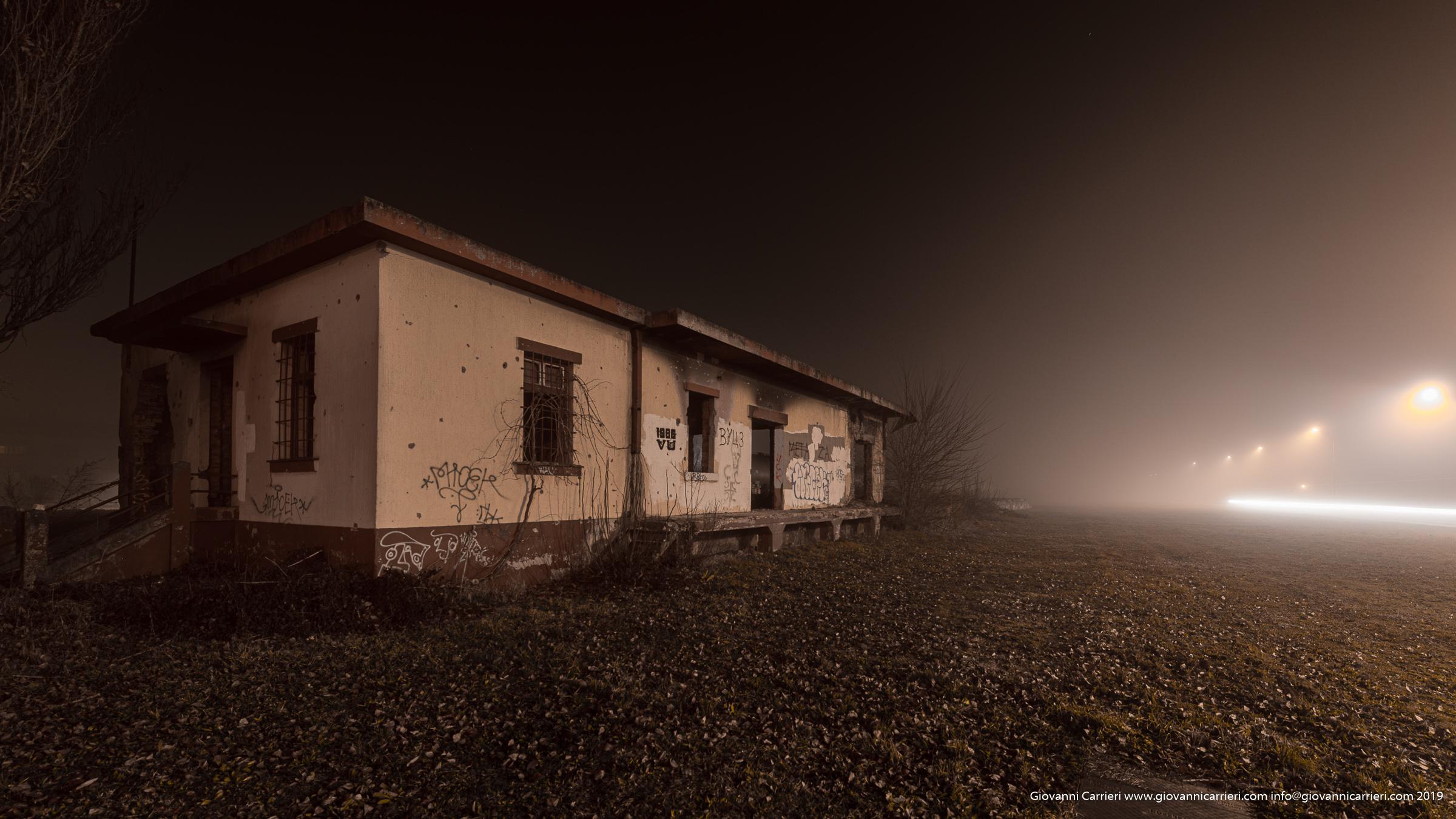 Nei pressi della stazione, tra nebbia e distruzione - Vukovar