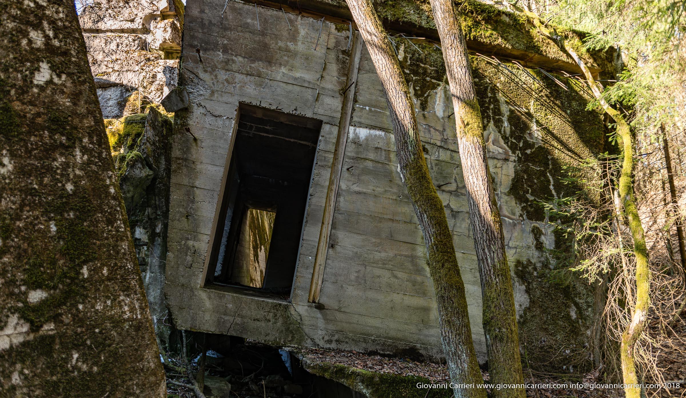 Il bunker antiaereo destinato agli ospiti