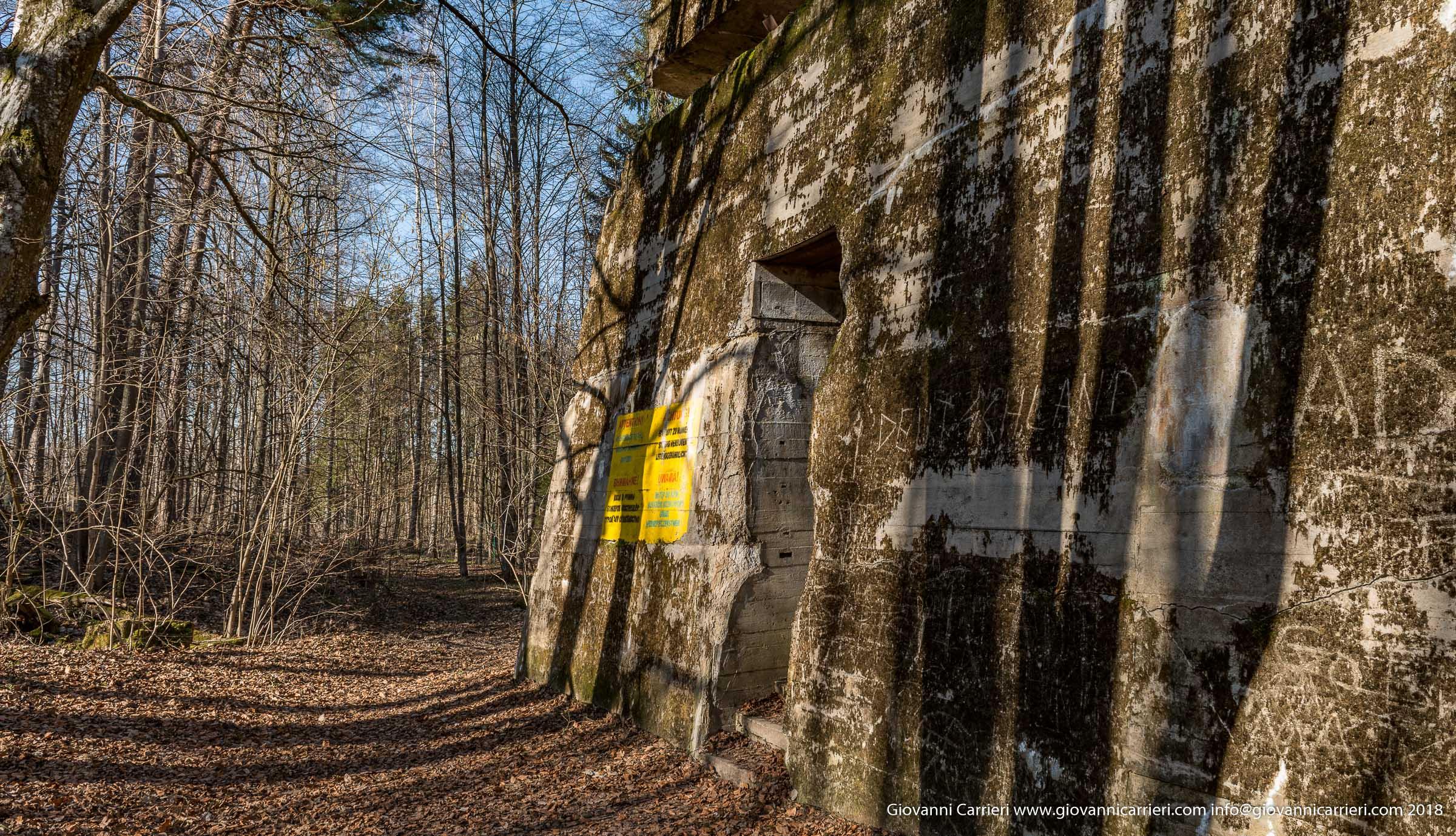 Panoramica sul bunker di Adolf Hitler