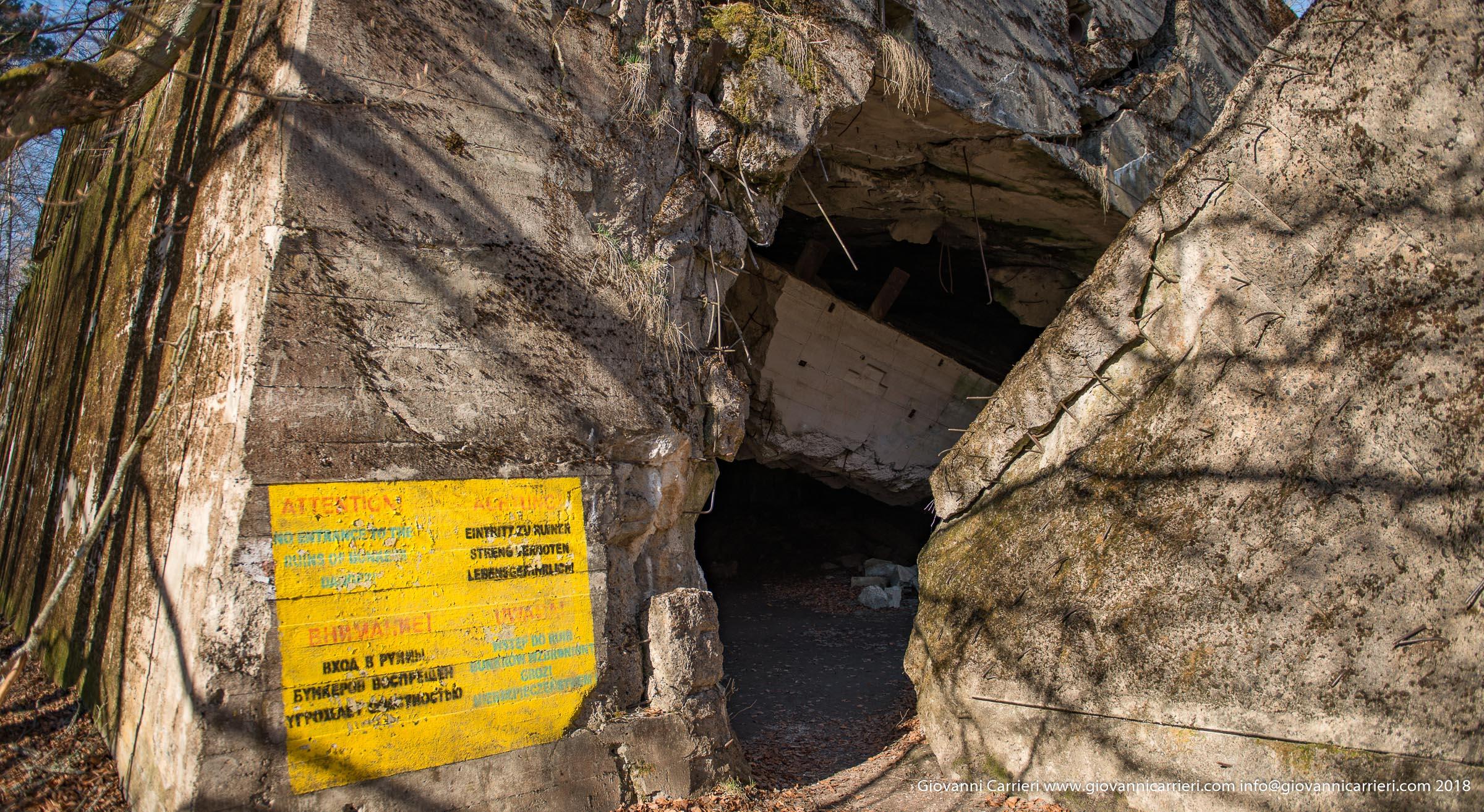 Il bunker del personale della Wehrmacht
