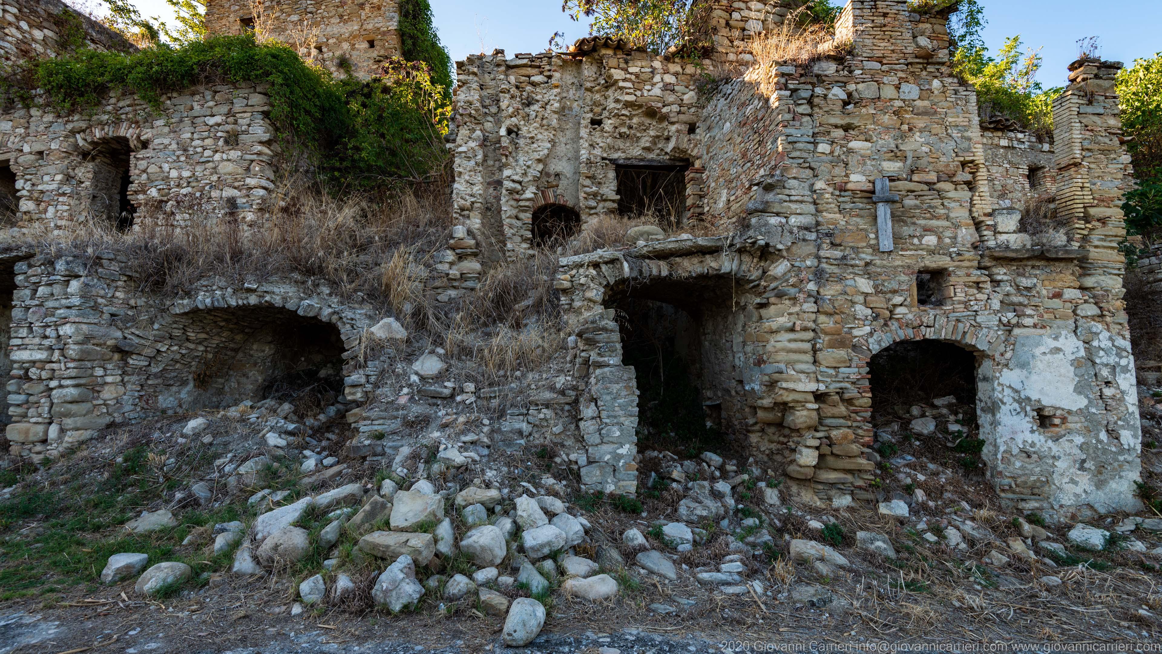 Le antiche abitazioni
