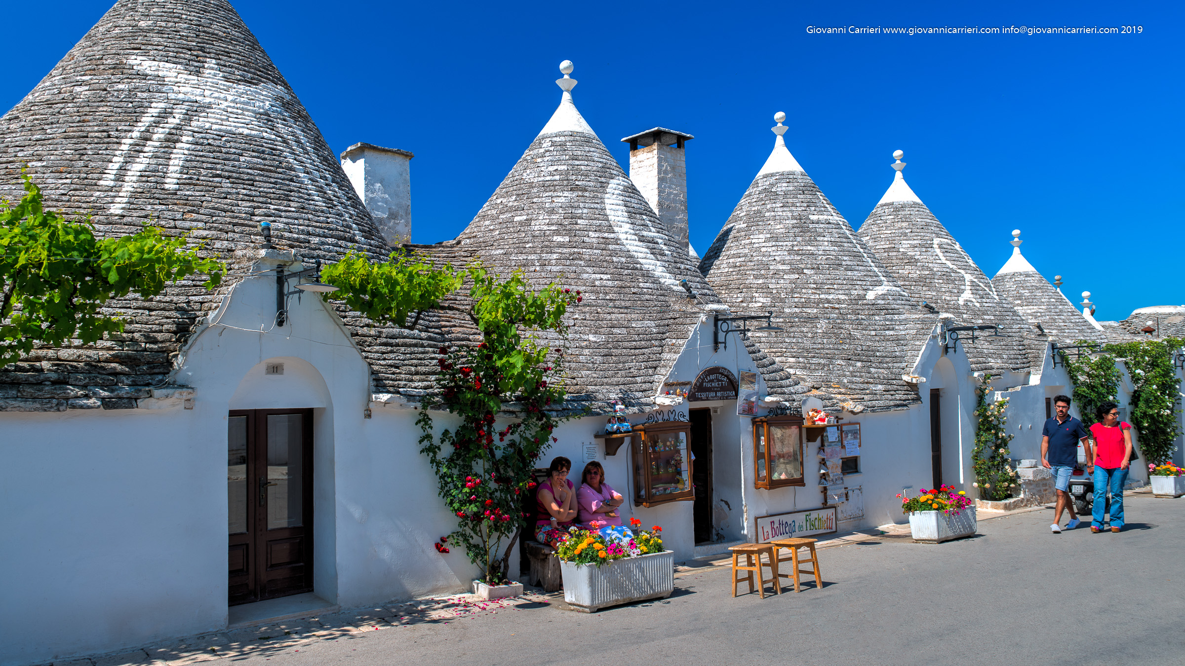 Photographs of Alberobello