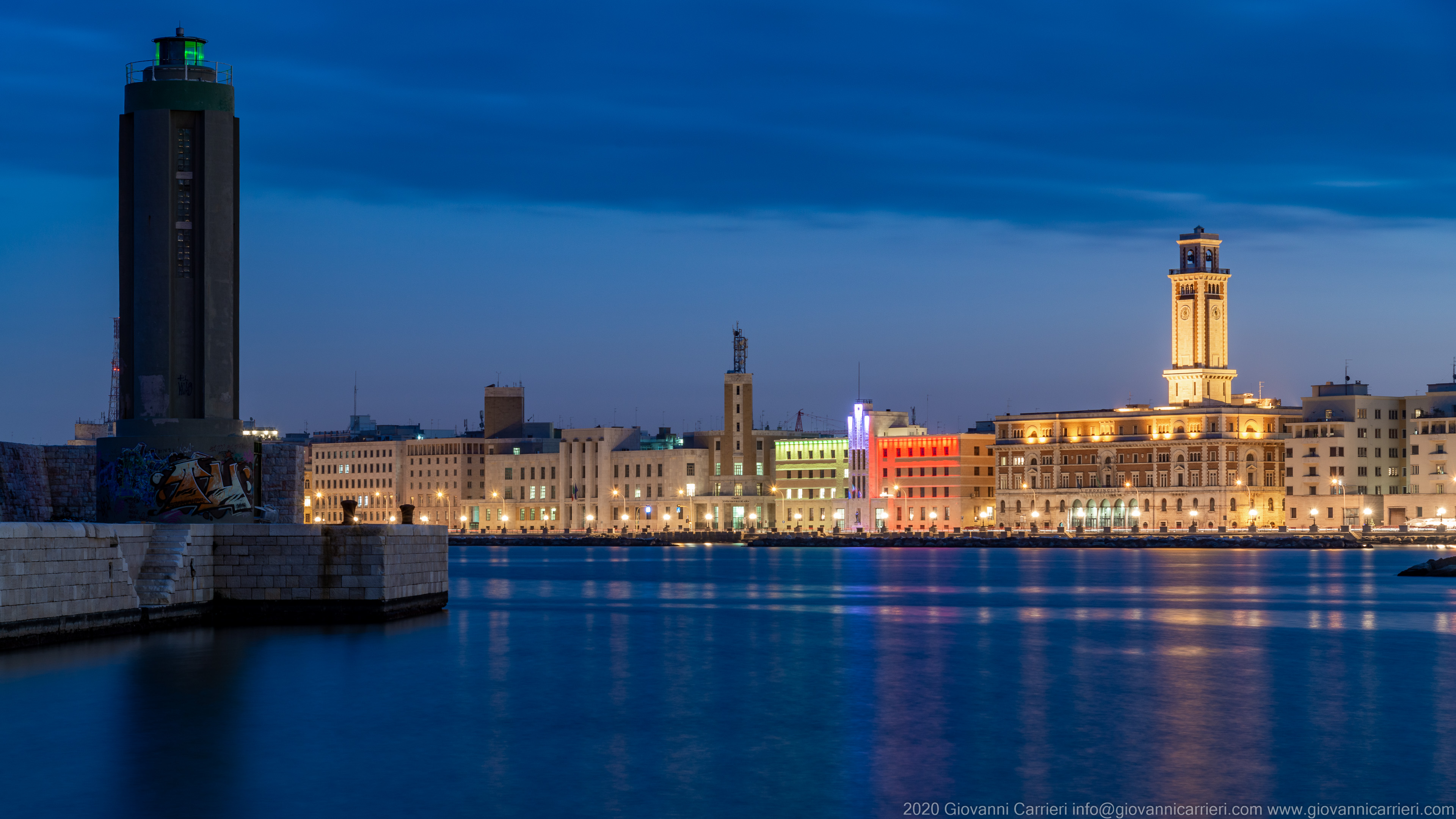 Bari, View from Sant'Antonio Pier