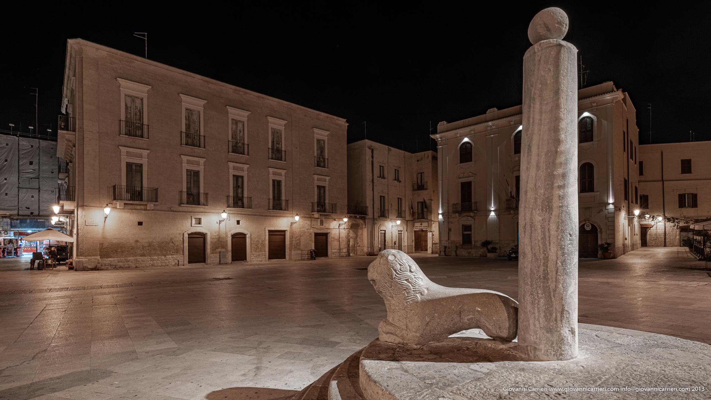La colonna degli infami a Bari vecchia