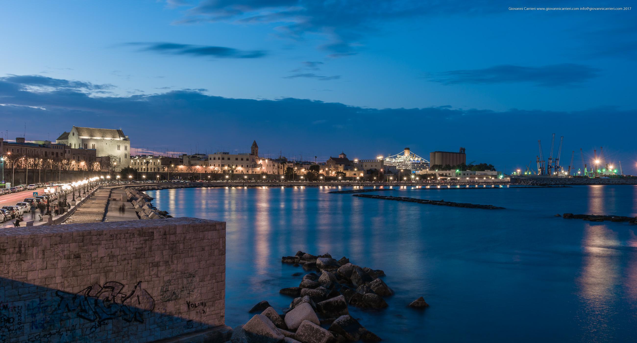 Promenade viewed from pier Sant'Antonio