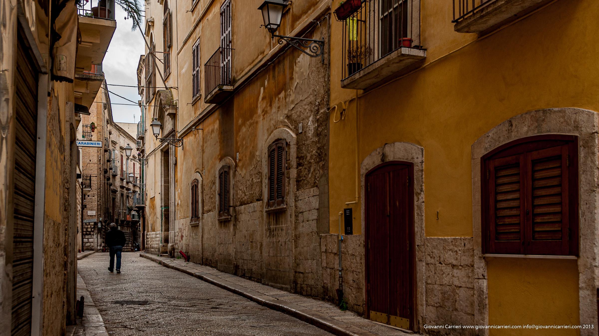 Strade di Bari vecchia