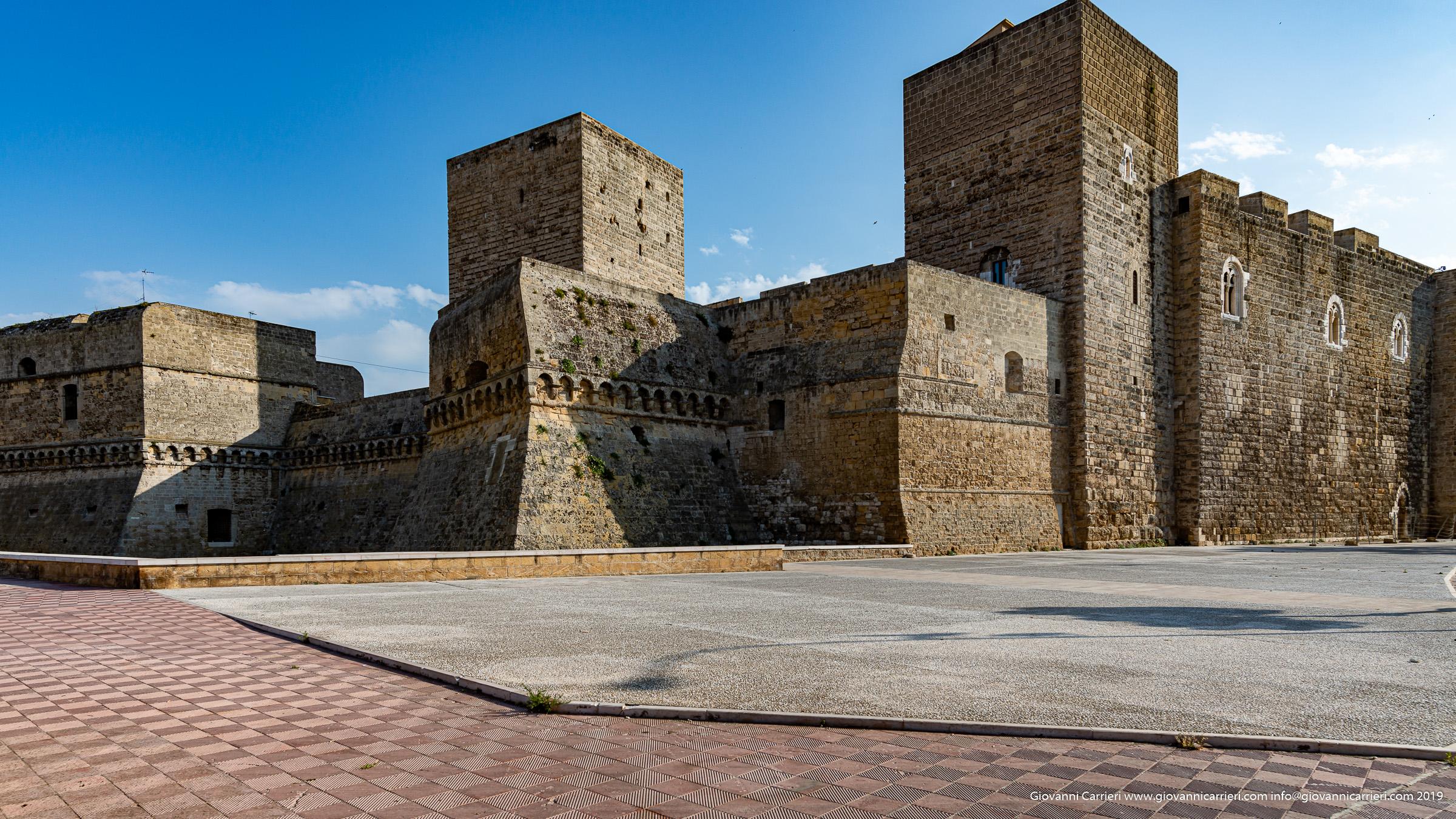 Vista del Castello Normanno Svevo, Bari
