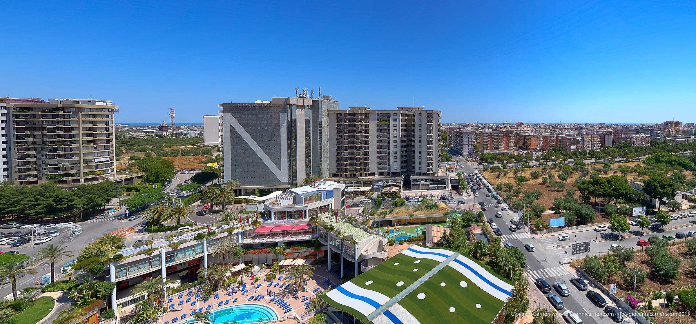 Panoramica del quartiere Poggiofranco - Bari
