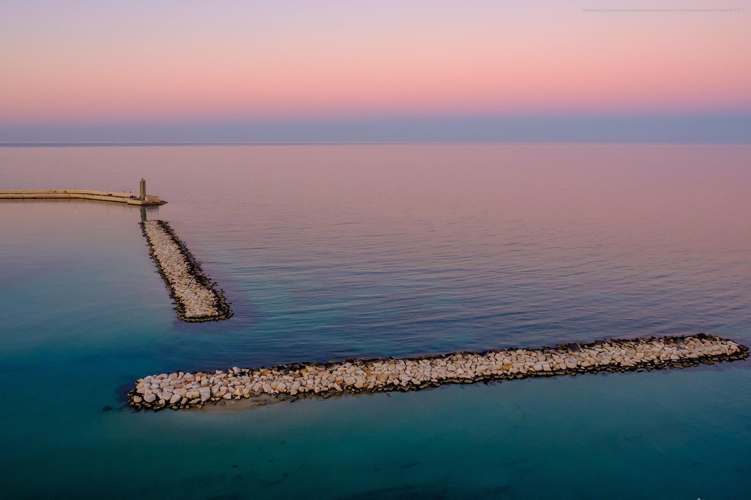 Bari seaport entrance