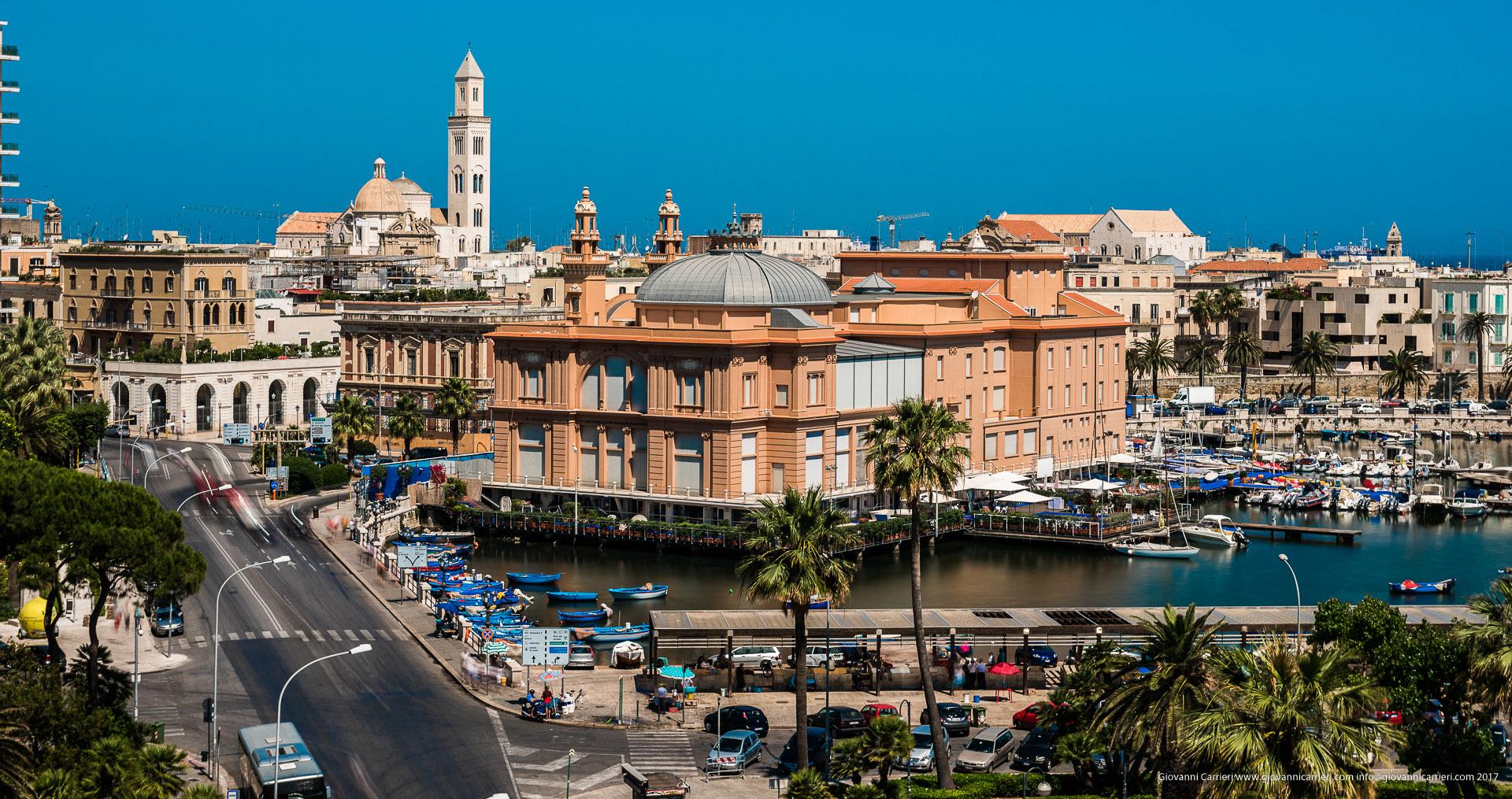 Panoramica del Teatro Margherita
