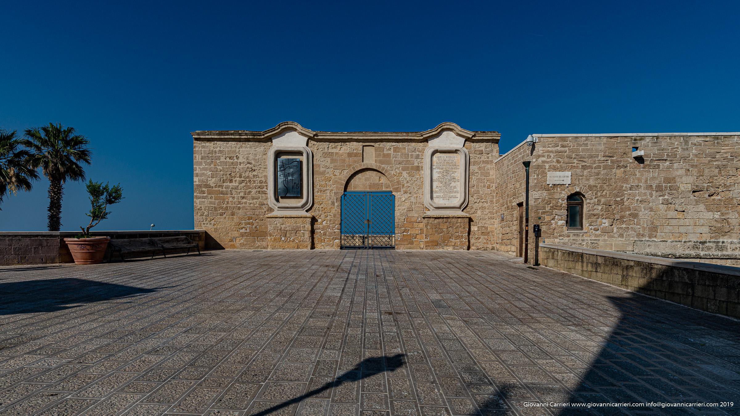 Vista frontale del Fortino di Sant'Antonio