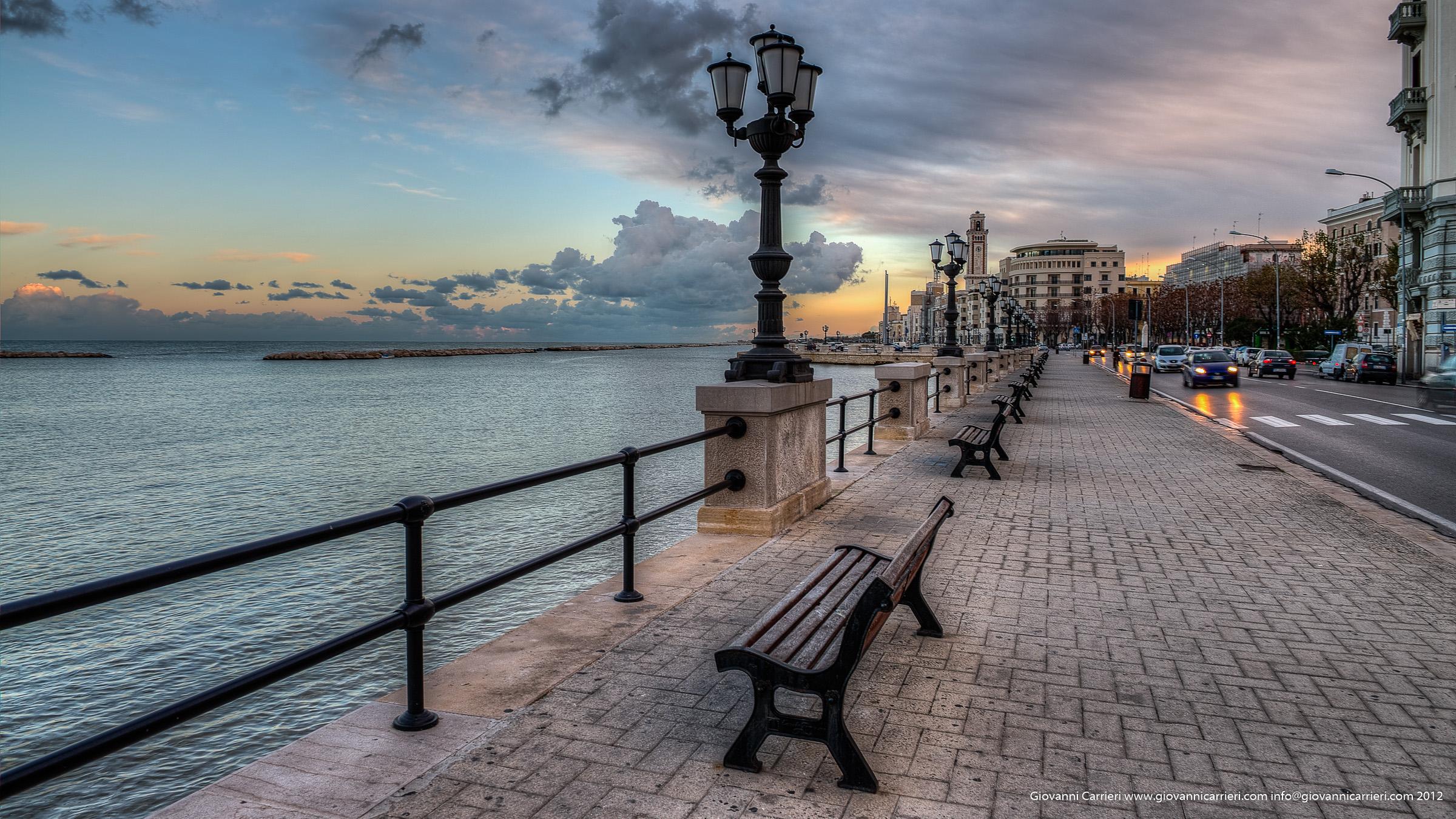 Lungomare di Bari - Puglia
