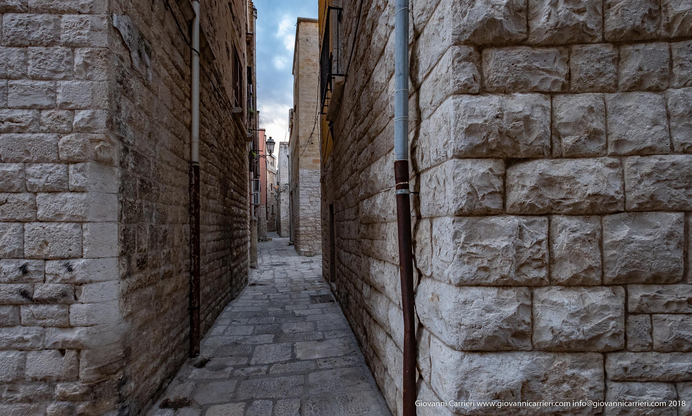 L'affascinante centro storico di Bisceglie