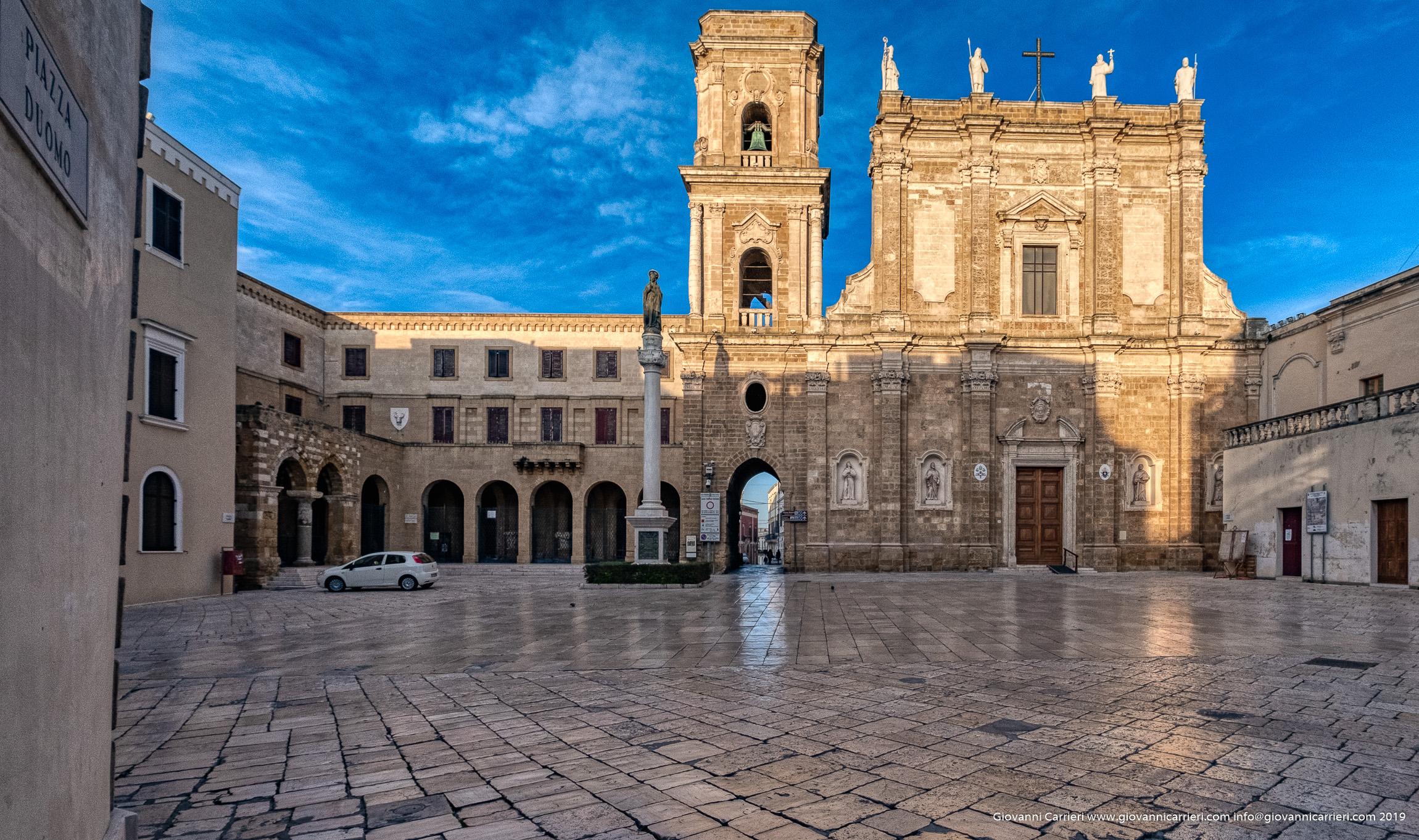 Duomo square of Brindisi