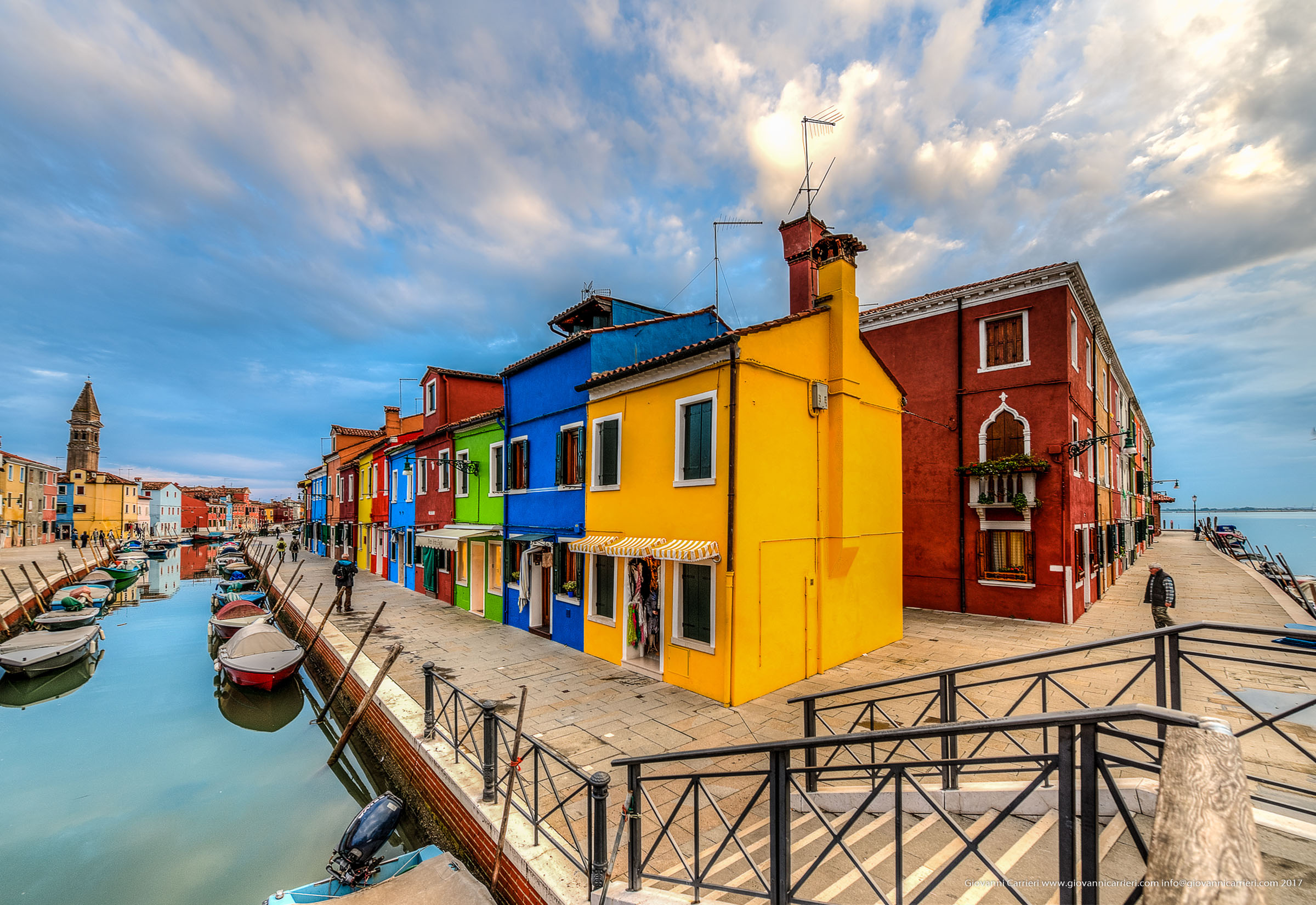 Photographs of Burano
