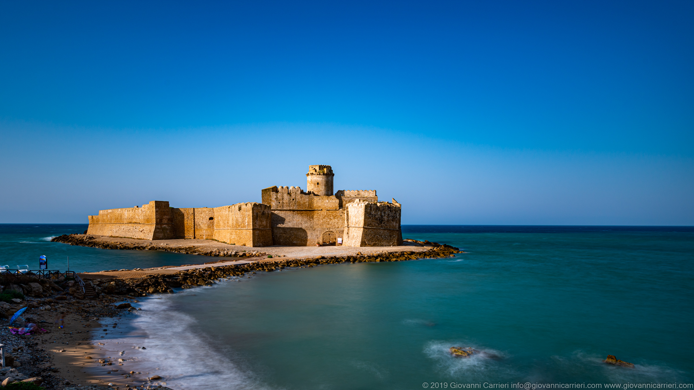 The Aragonese Fortress of Le Castella
