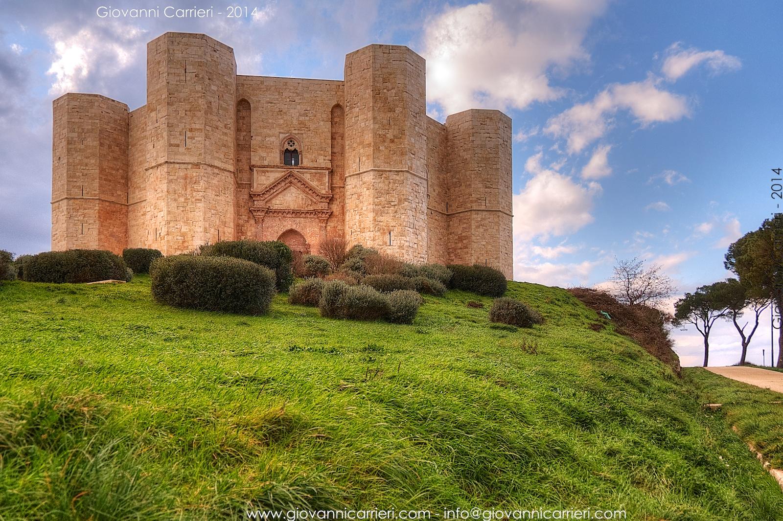 Castel del Monte arroccato