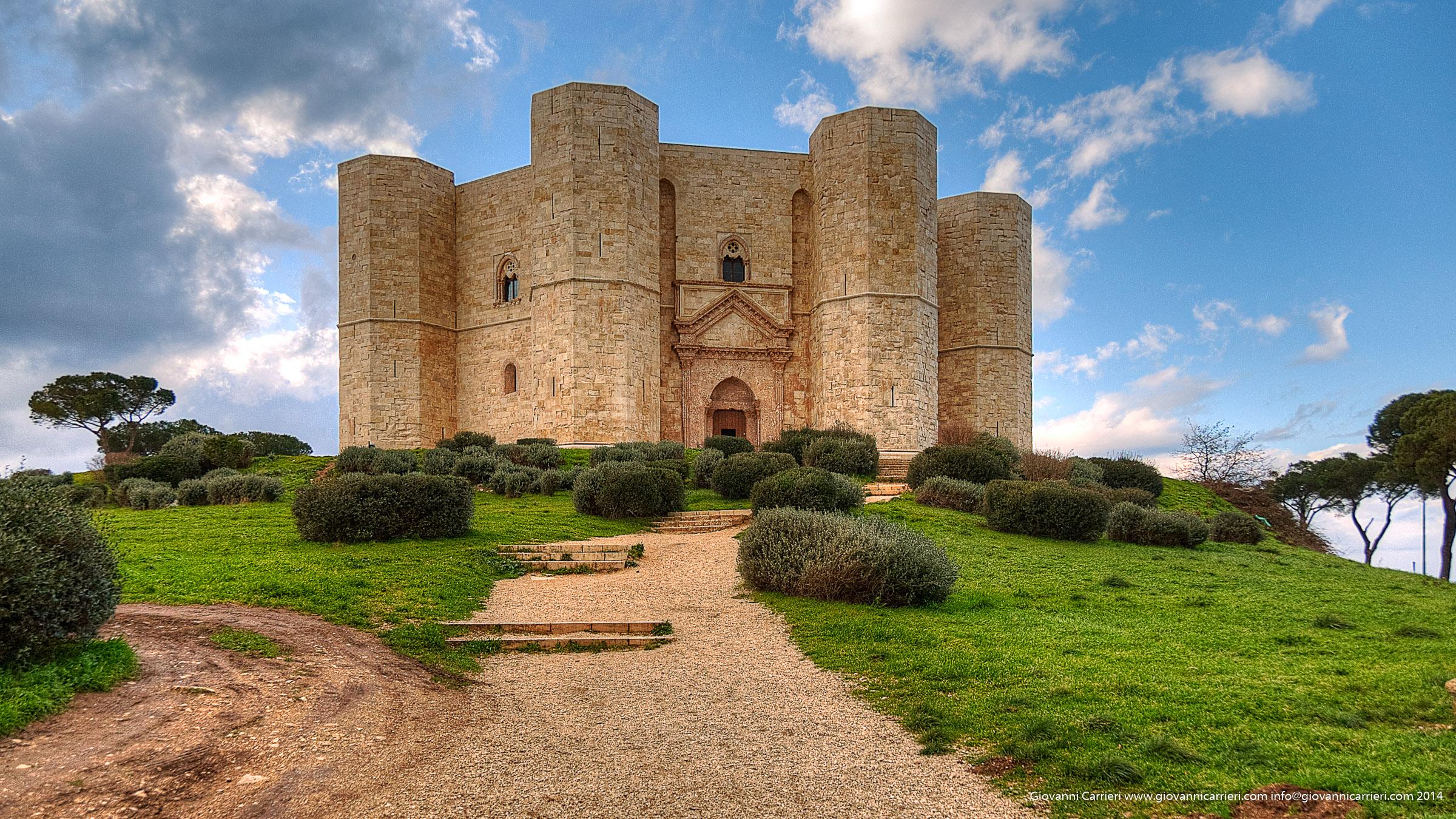 Castel del Monte e la salita