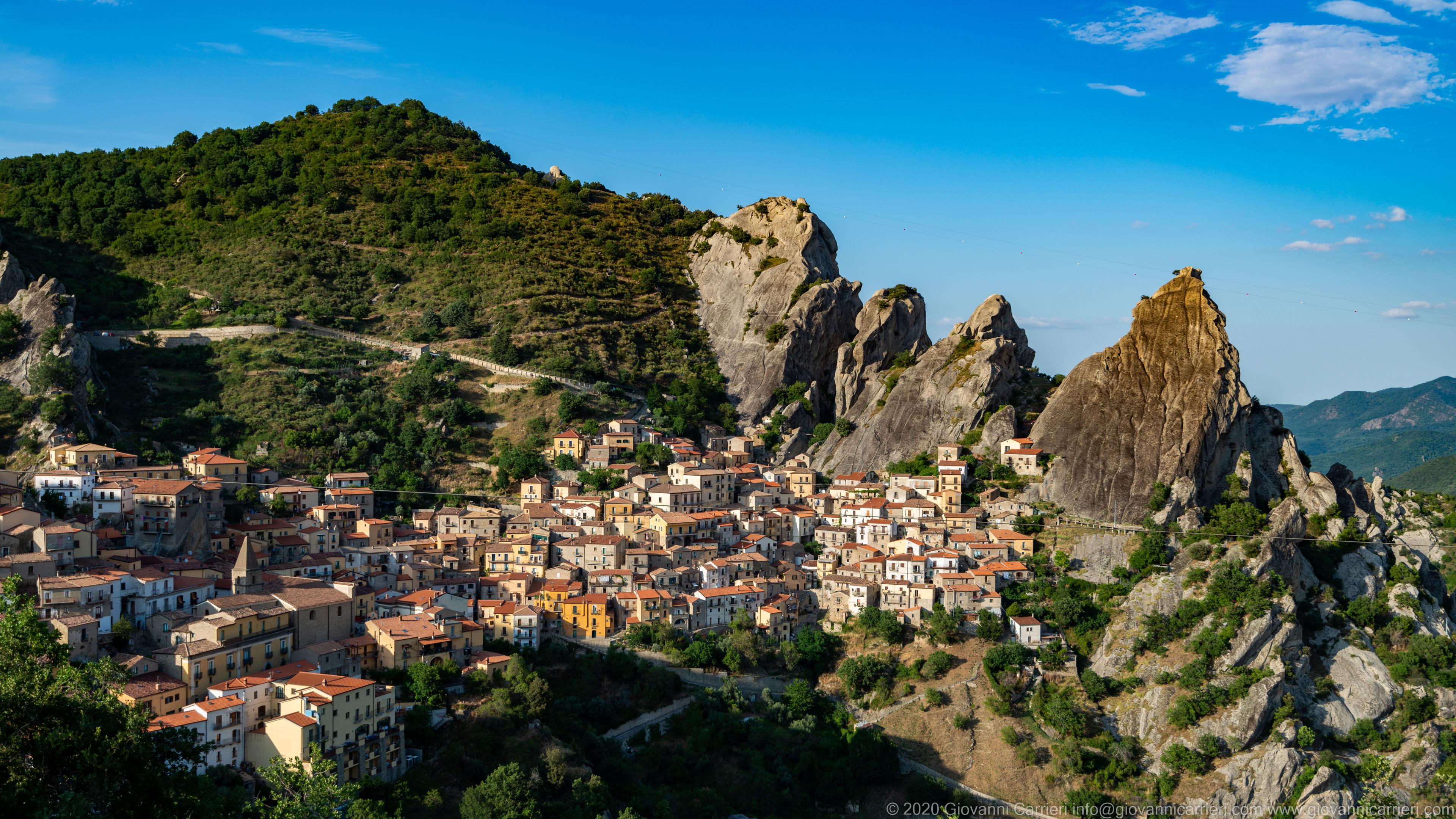 Panoramica di Castelmezzano
