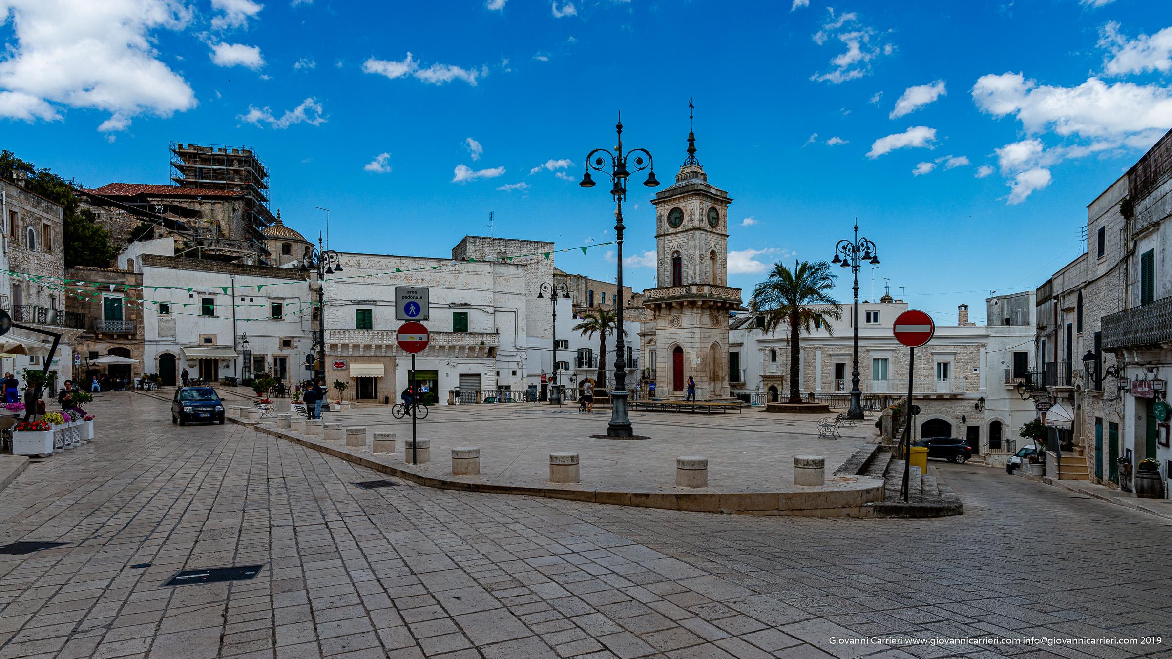 Piazza Plebiscito e la Torre dell'Orologio