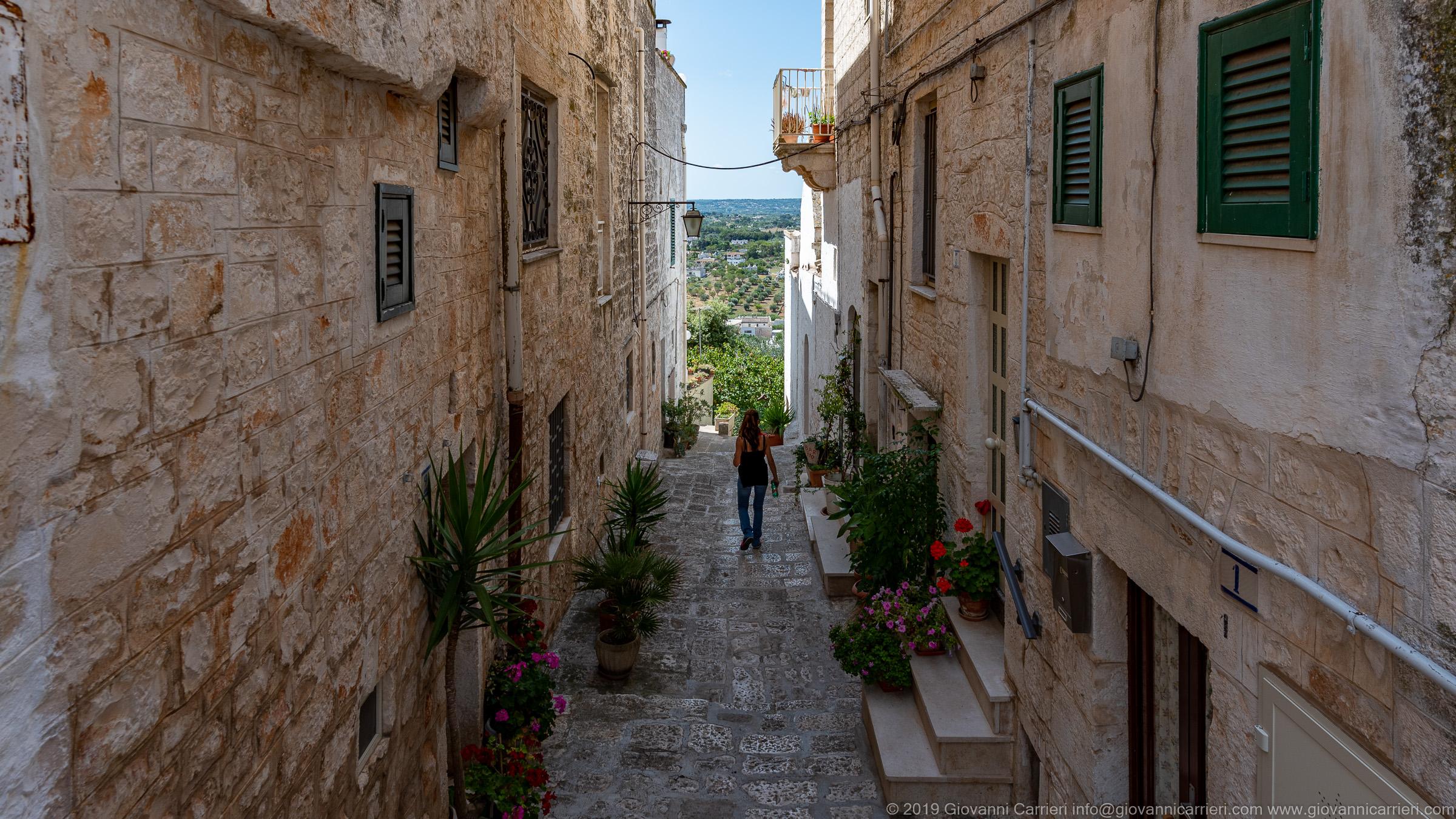 La valle d'Itria da Cisternino