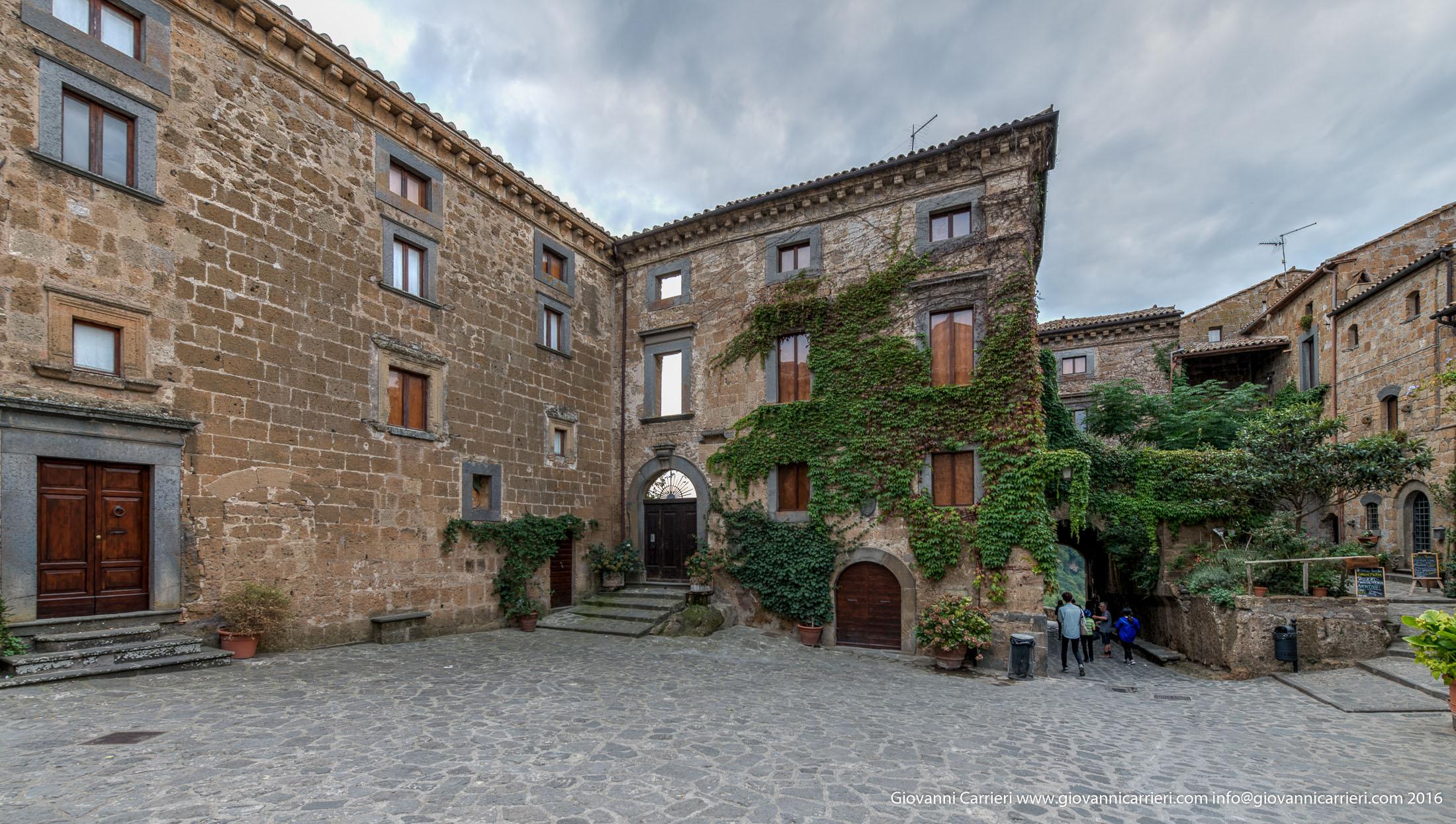Ingresso del centro storico di Civita di Bagnoregio