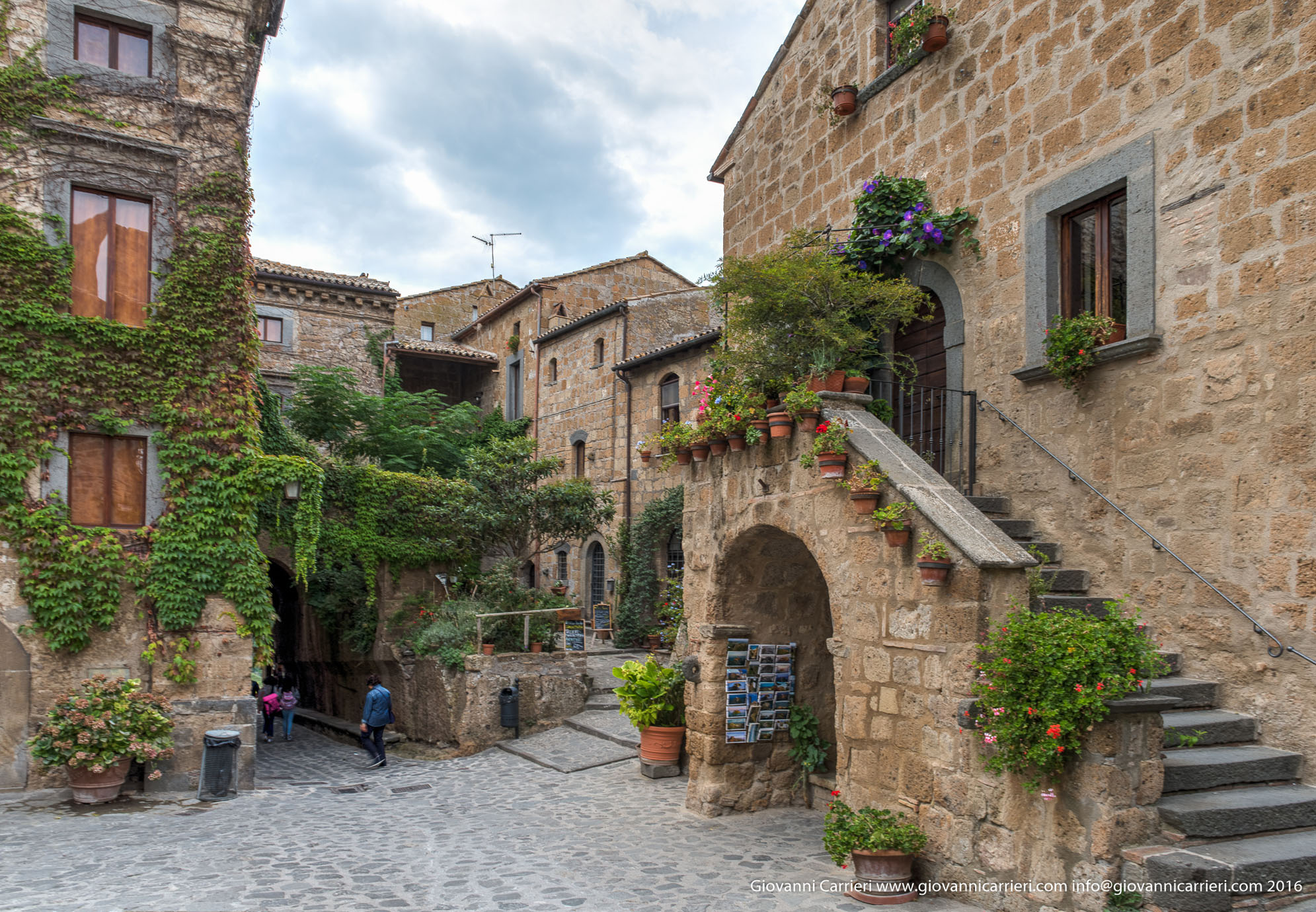 Le antiche costruzioni di Civita di Bagnoregio