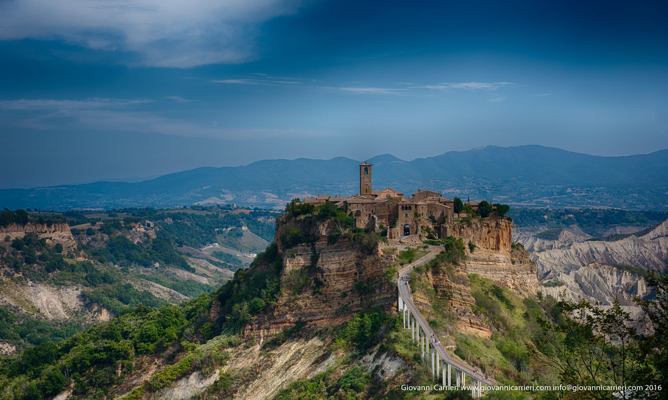 Photographs of Civita di Bagnoregio