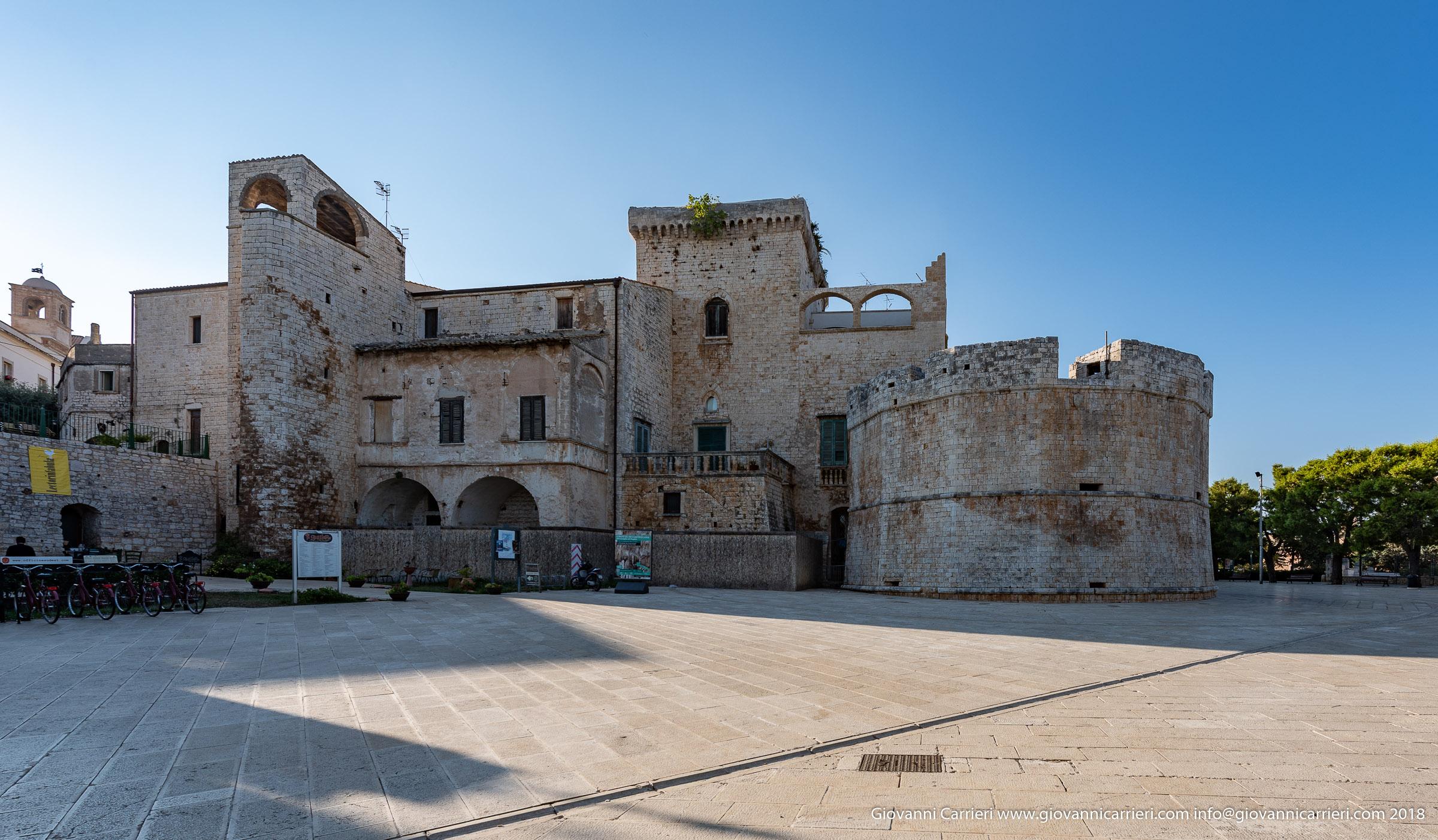 La torre poligonale del Castello di Conversano