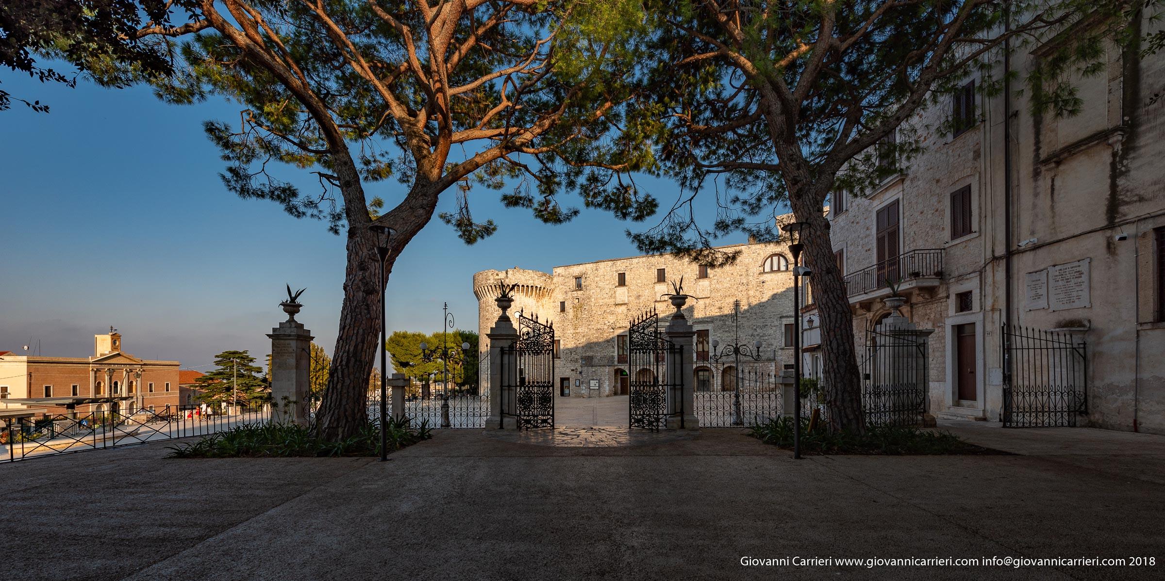 La villa Garibaldi in Conversano