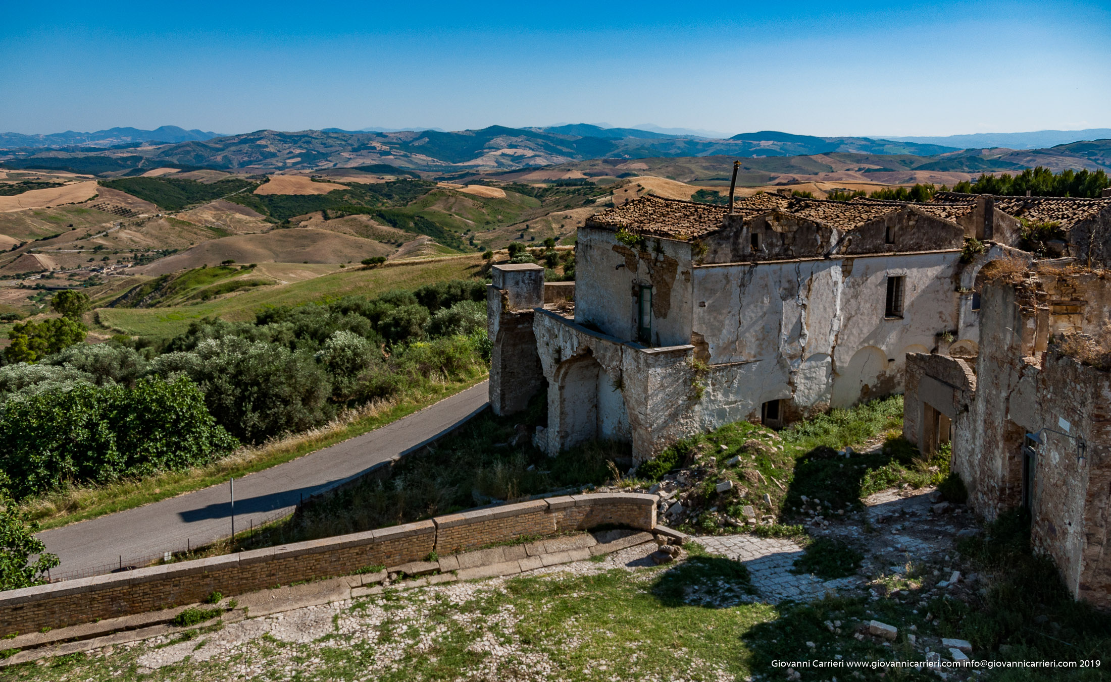 Craco, the ghost town