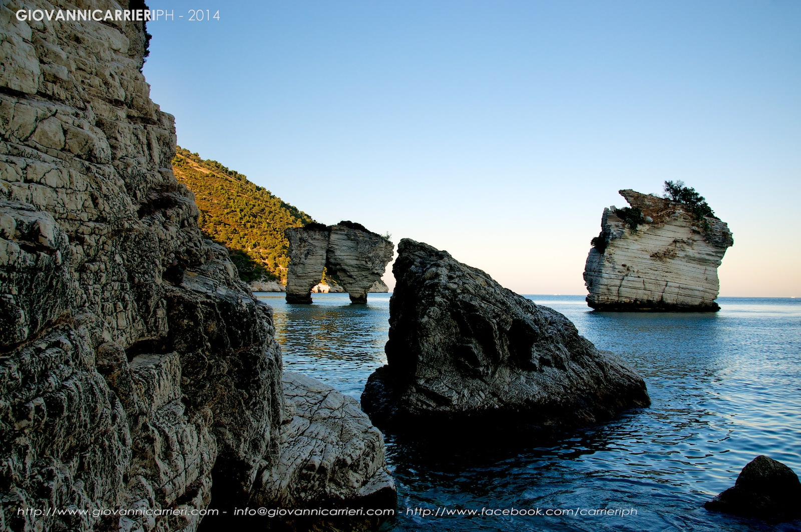 Zagare bay - sunset - Gargano