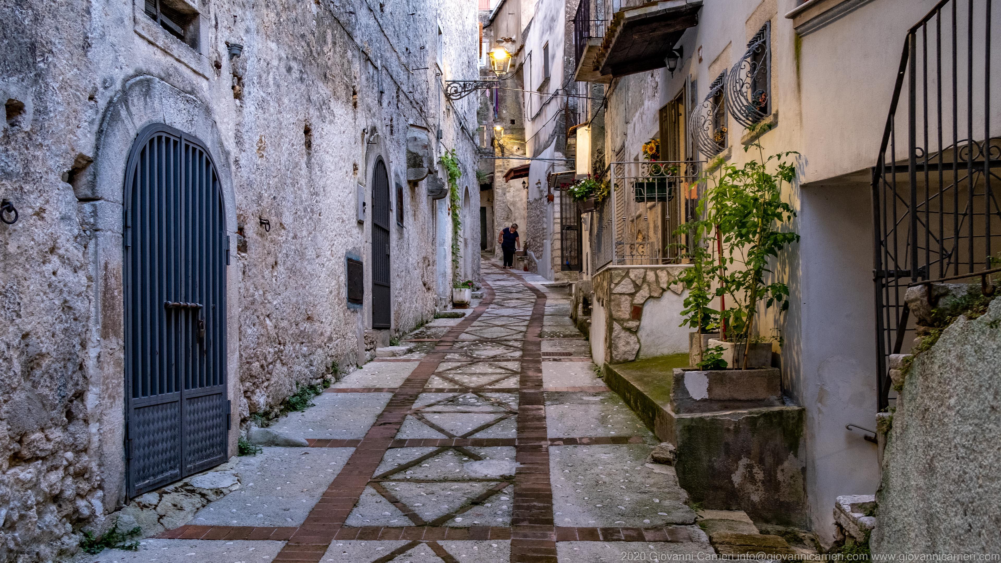 Le stradine del centro storico