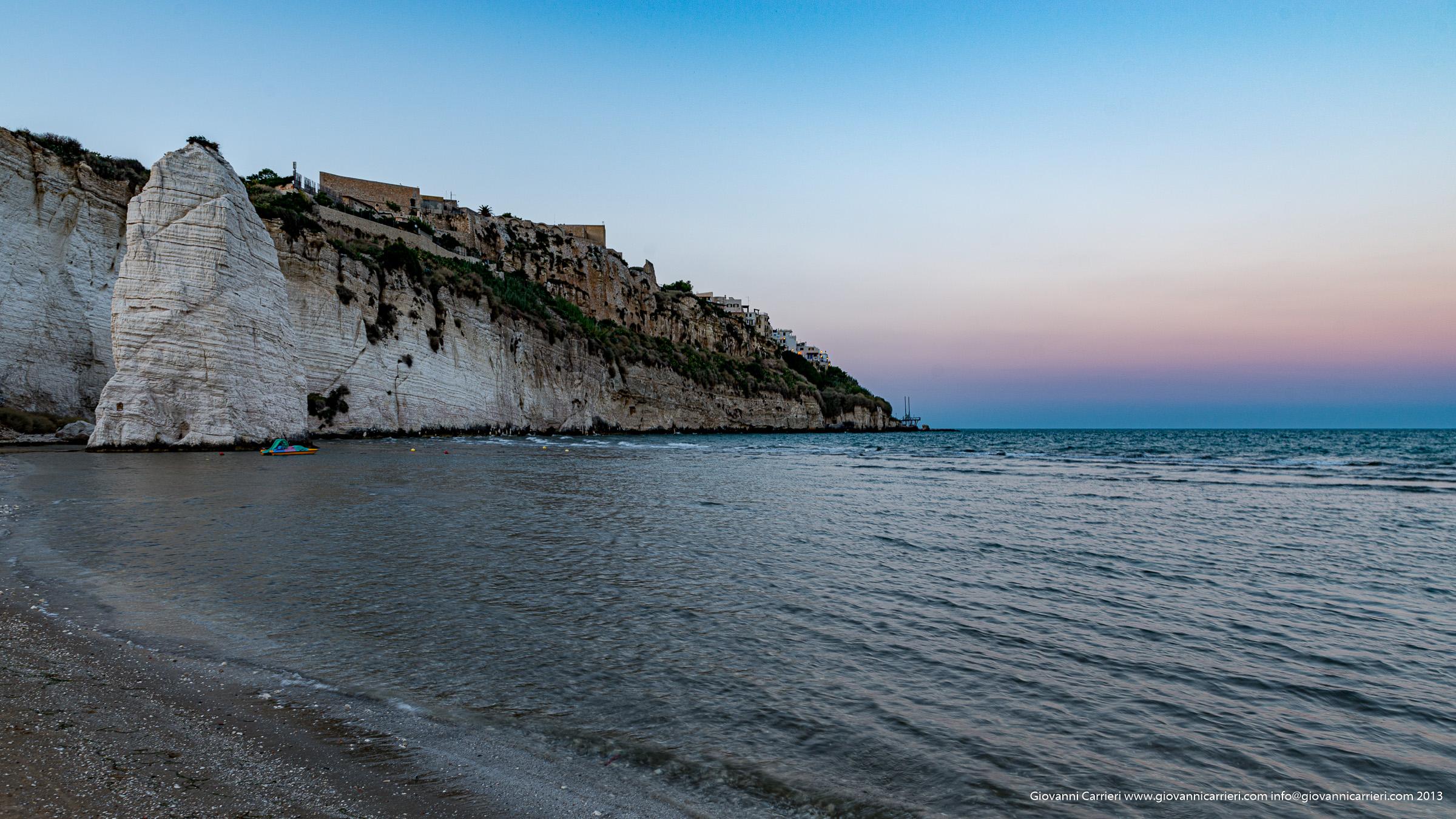 La spiaggia di Vieste
