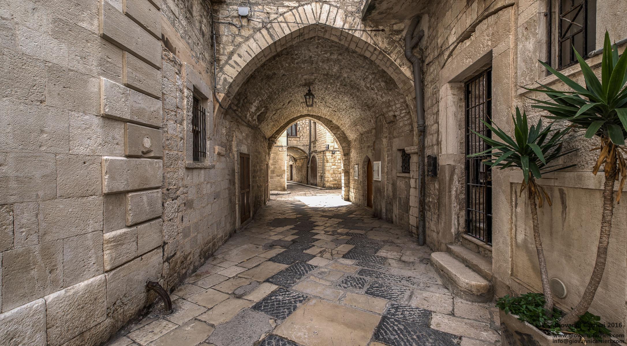 Scorcio del centro storico di Giovinazzo