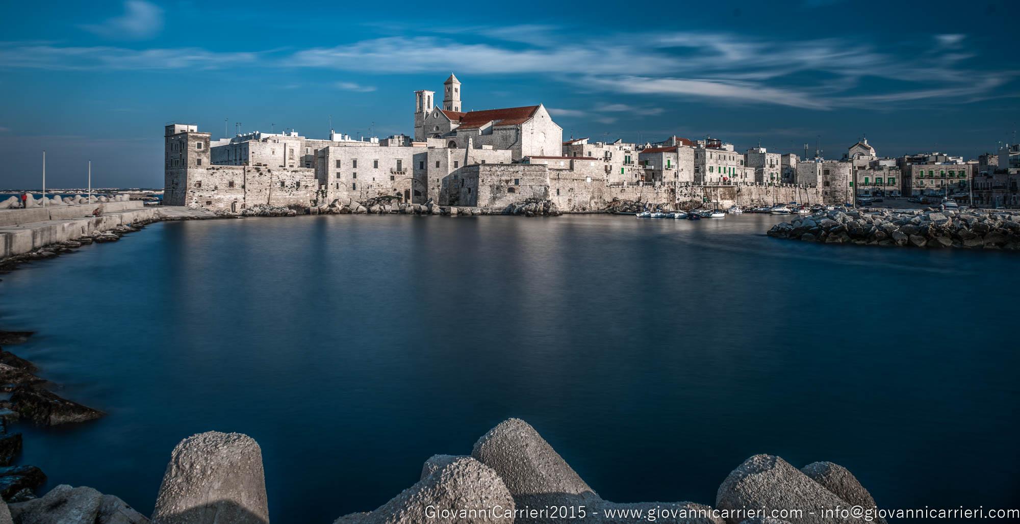 Il panorama del porto di Giovinazzo - Bari