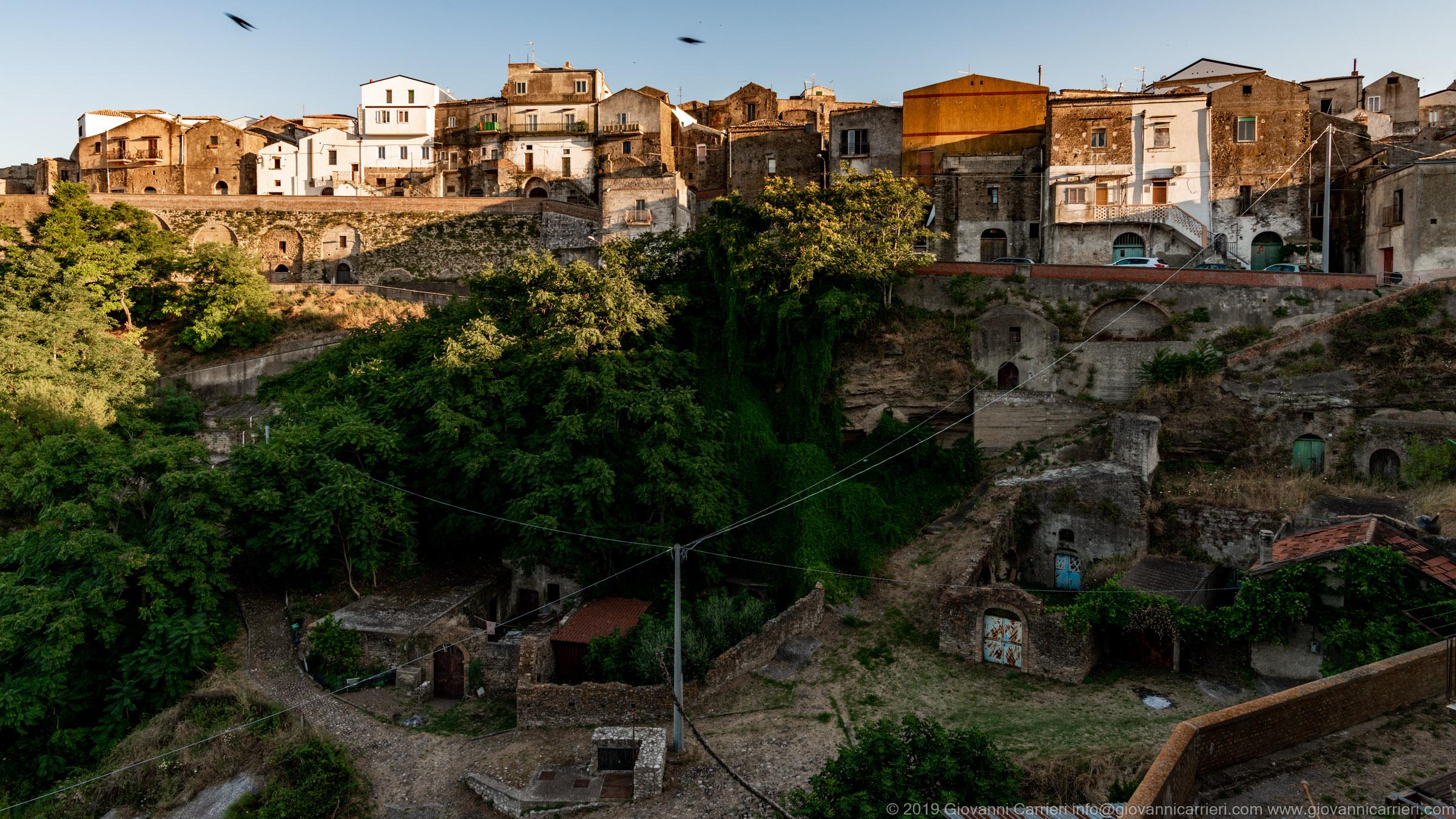 Il centro storico di Grottole