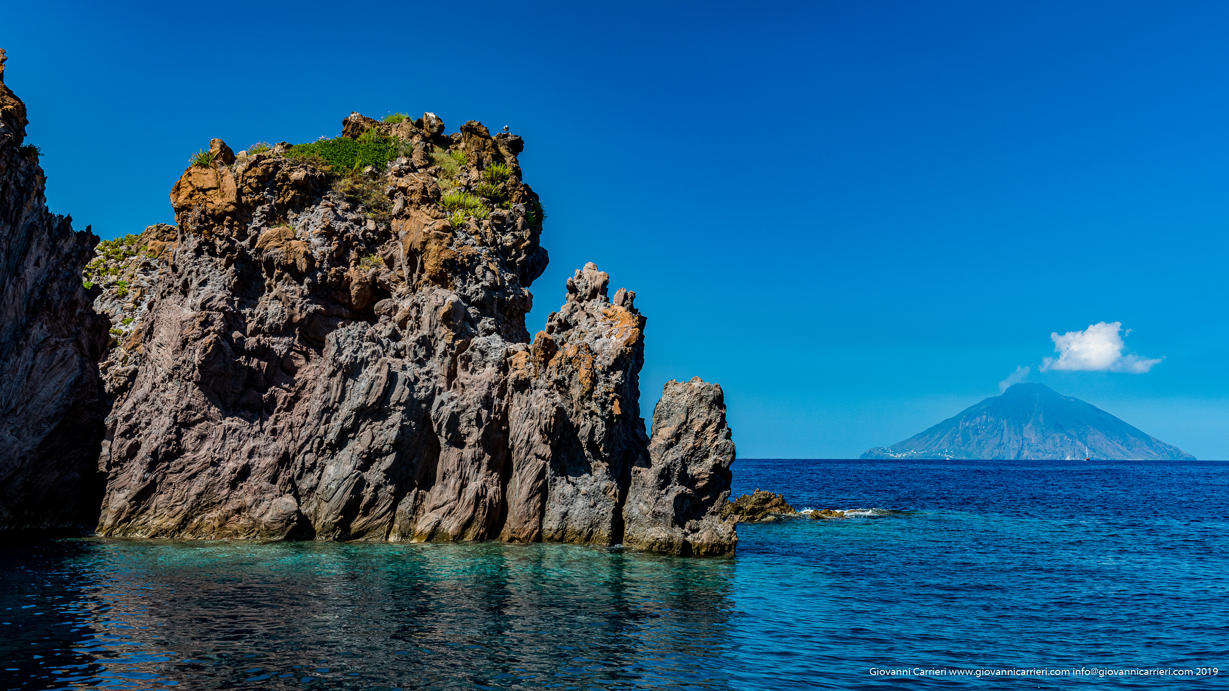 Photographs of Aeolian Islands