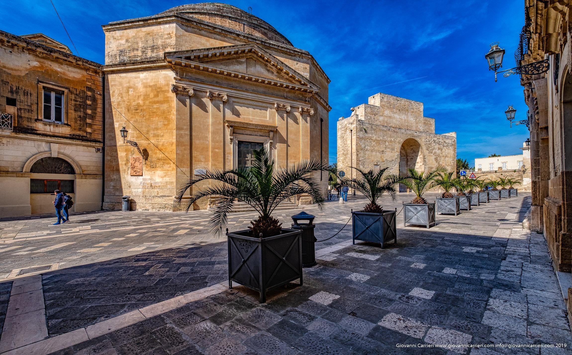 La chiesa di Santa Maria della Porta, Lecce