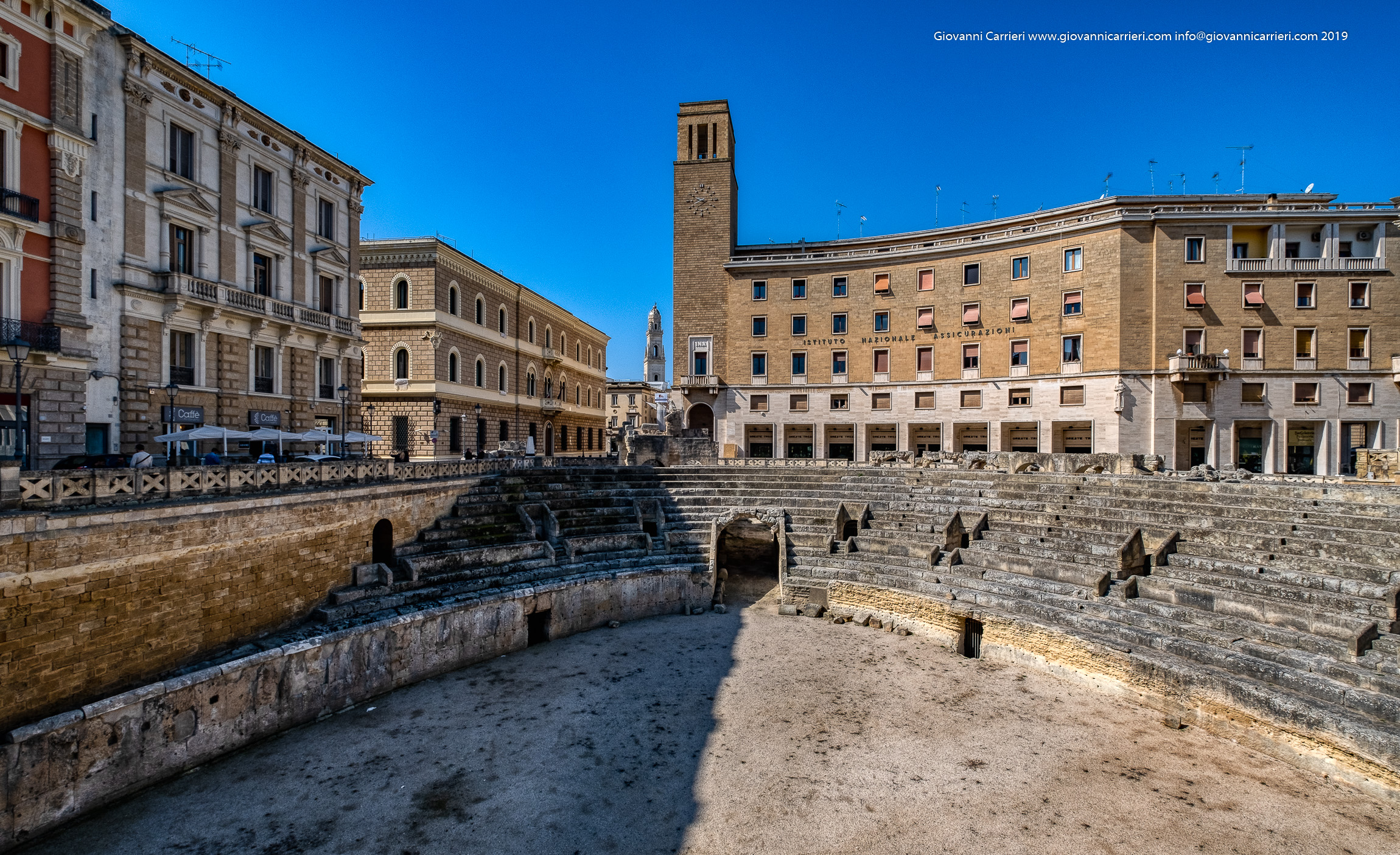 Un angolo di Piazza Sant'Oronzo in Lecce